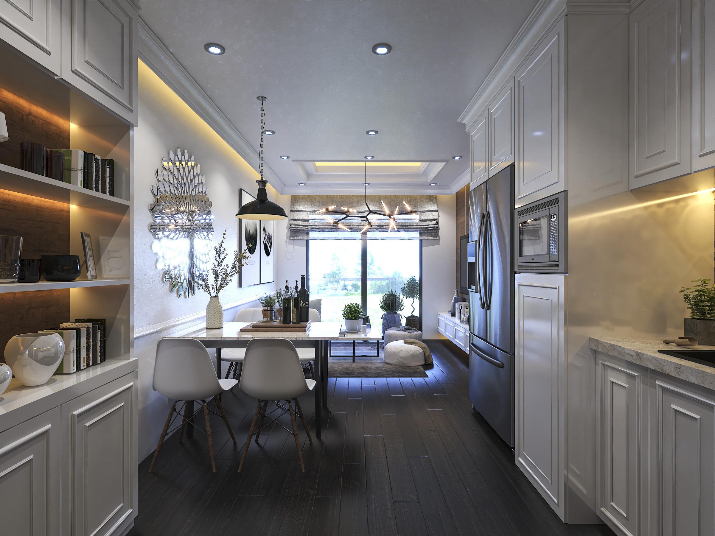Thiết kế nội thất Chung Cư tại Hồ Chí Minh Ms Liên's Apartment 1592323879 0