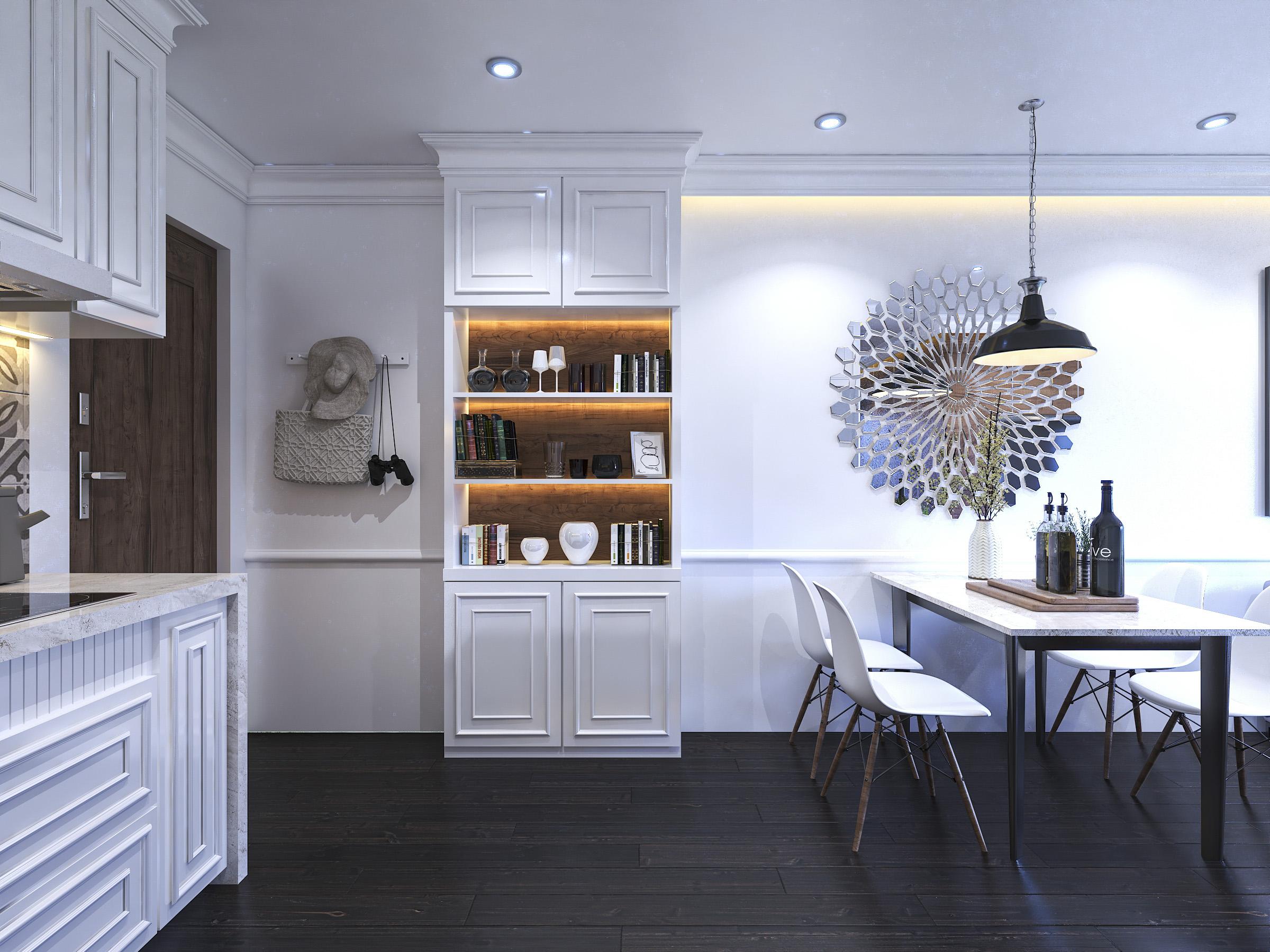 Thiết kế nội thất Chung Cư tại Hồ Chí Minh Ms Liên's Apartment 1592323879 1