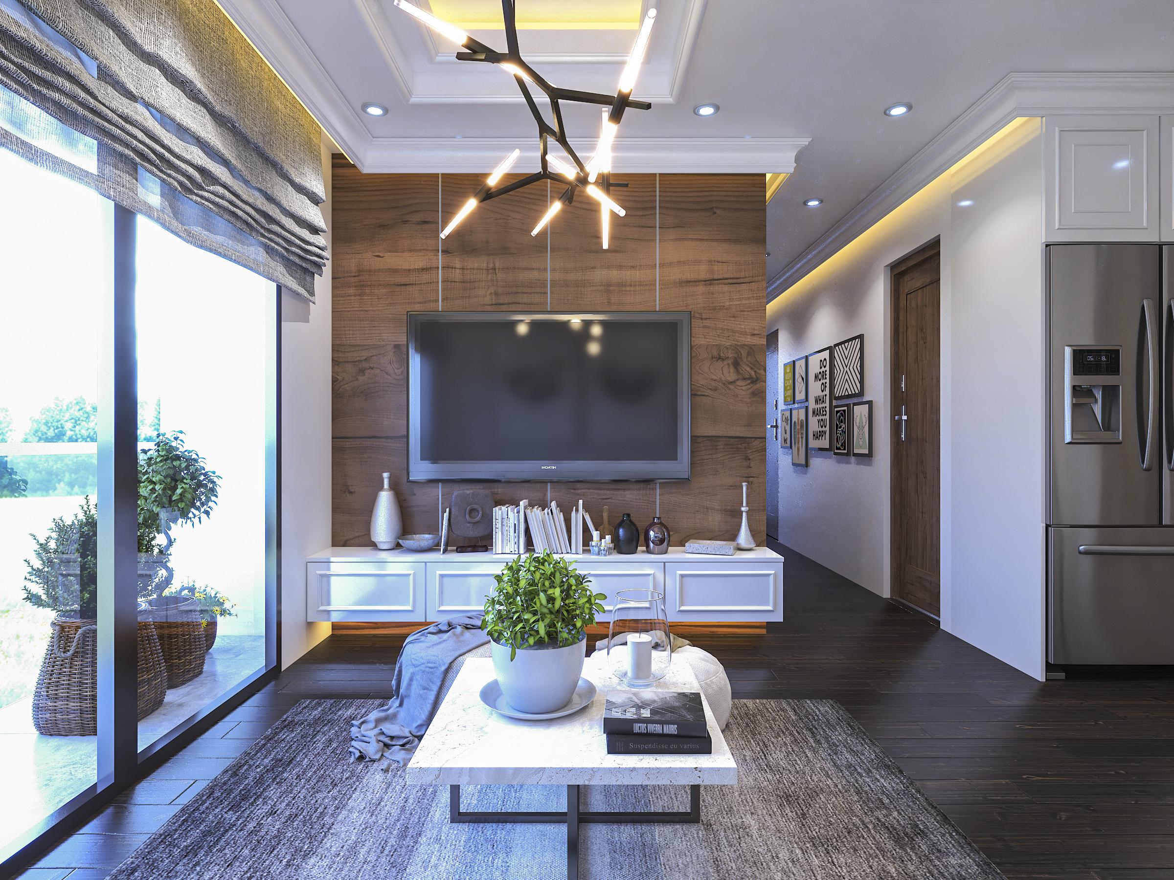 Thiết kế nội thất Chung Cư tại Hồ Chí Minh Ms Liên's Apartment 1592323879 4