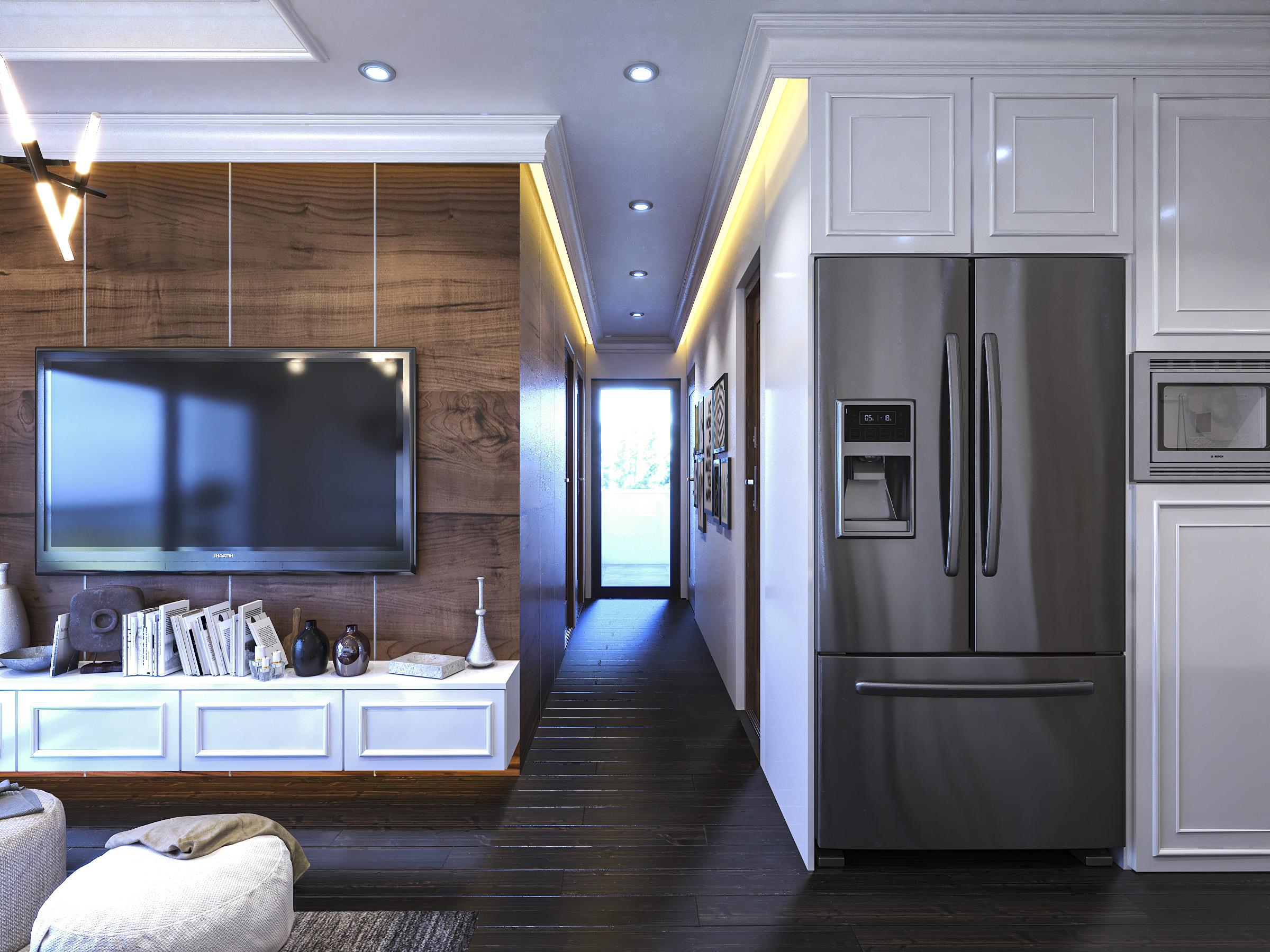Thiết kế nội thất Chung Cư tại Hồ Chí Minh Ms Liên's Apartment 1592323879 8