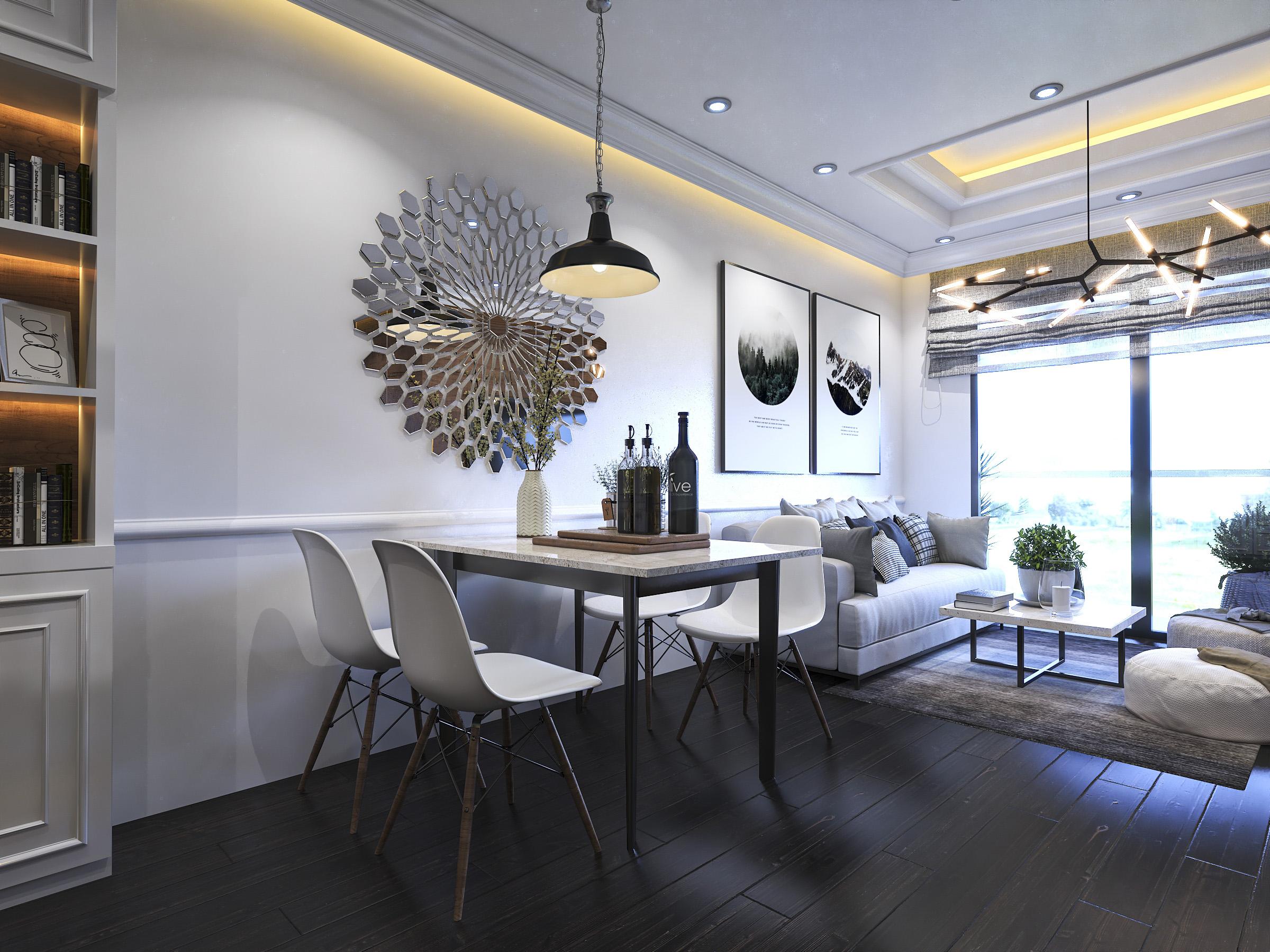 Thiết kế nội thất Chung Cư tại Hồ Chí Minh Ms Liên's Apartment 1592323879 9