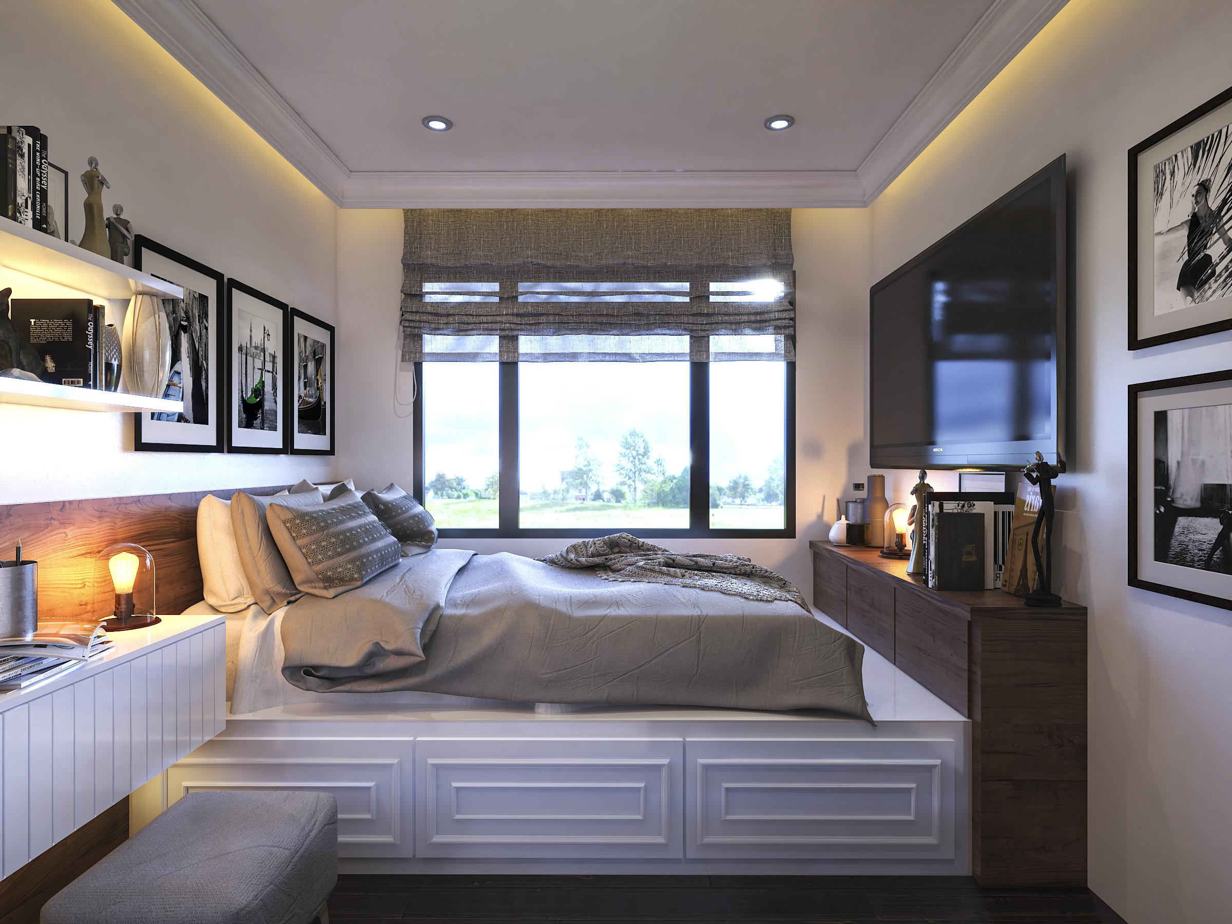 Thiết kế nội thất Chung Cư tại Hồ Chí Minh Ms Liên's Apartment 1592323880 10