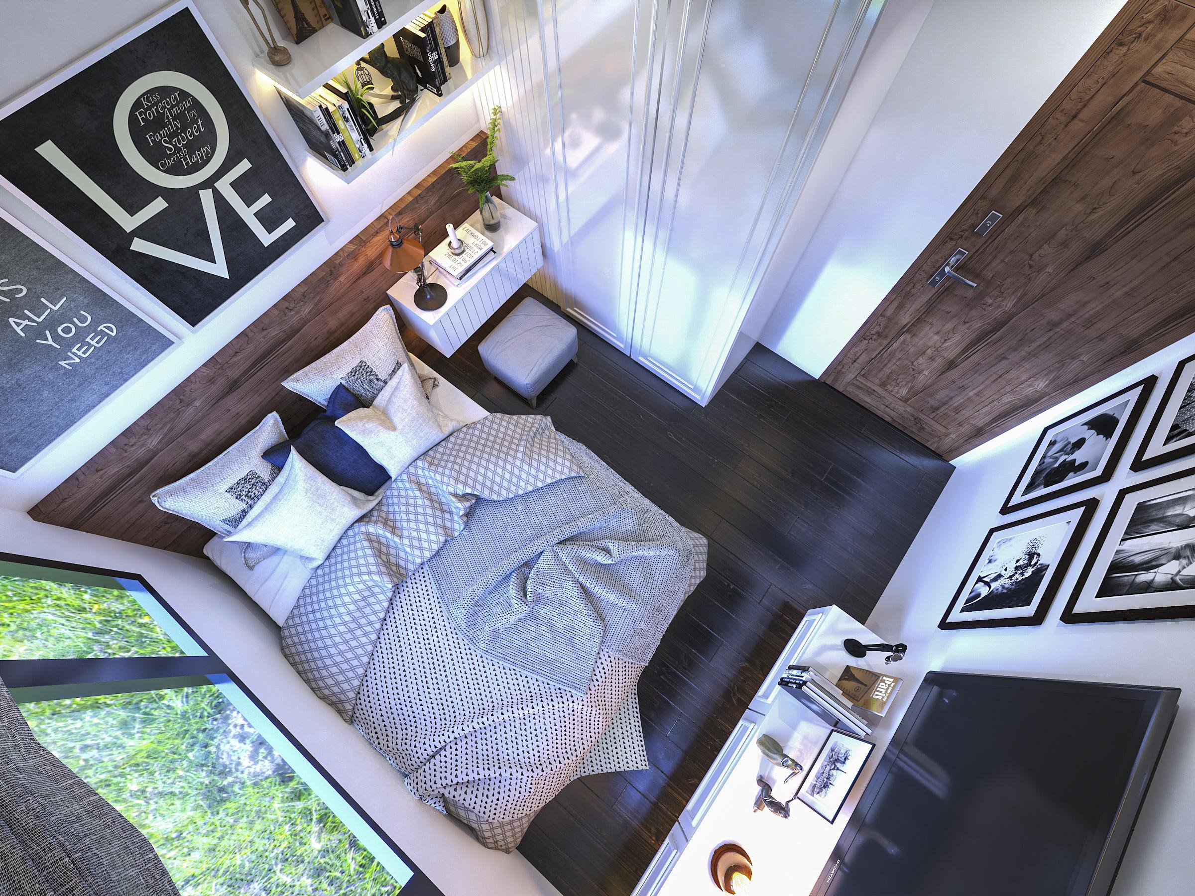 Thiết kế nội thất Chung Cư tại Hồ Chí Minh Ms Liên's Apartment 1592323882 17