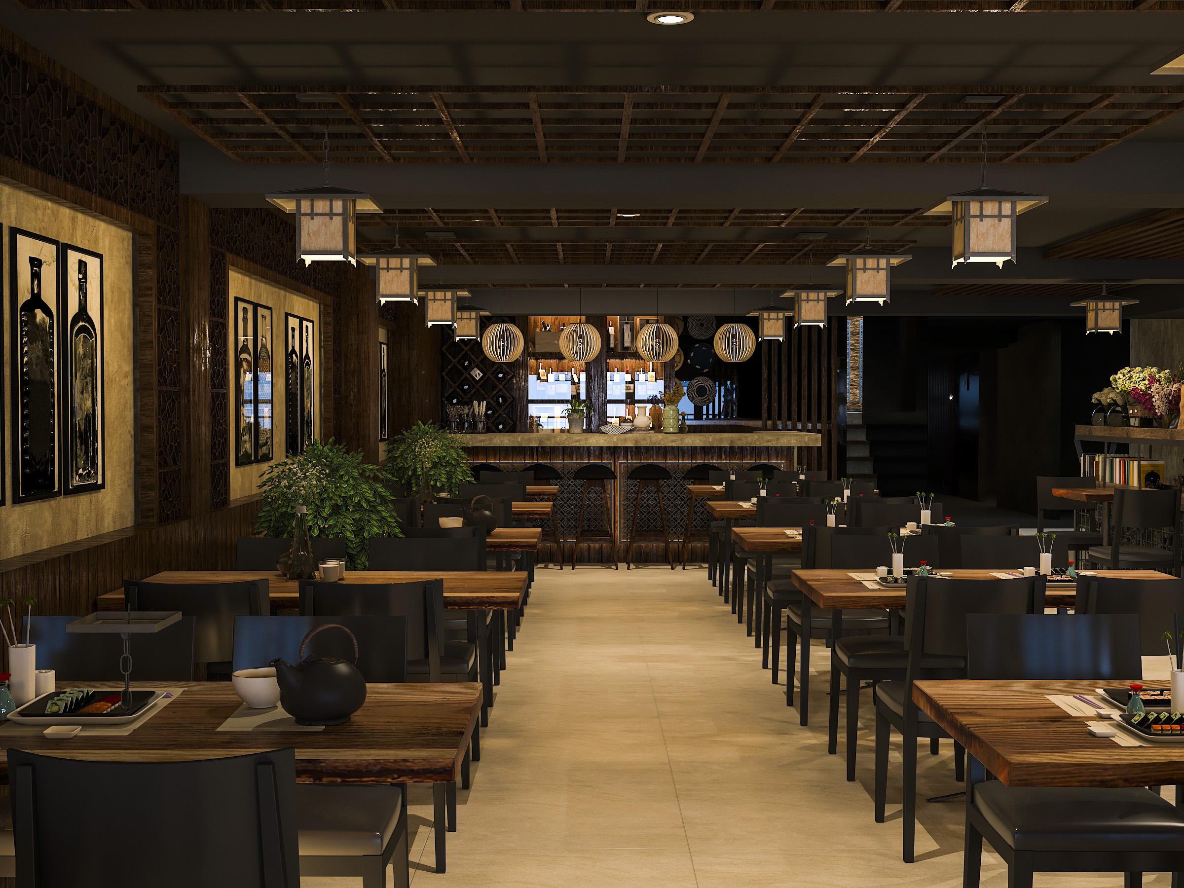 thiết kế nội thất Nhà Hàng tại Hồ Chí Minh NNT Restaurant 0 1562573807