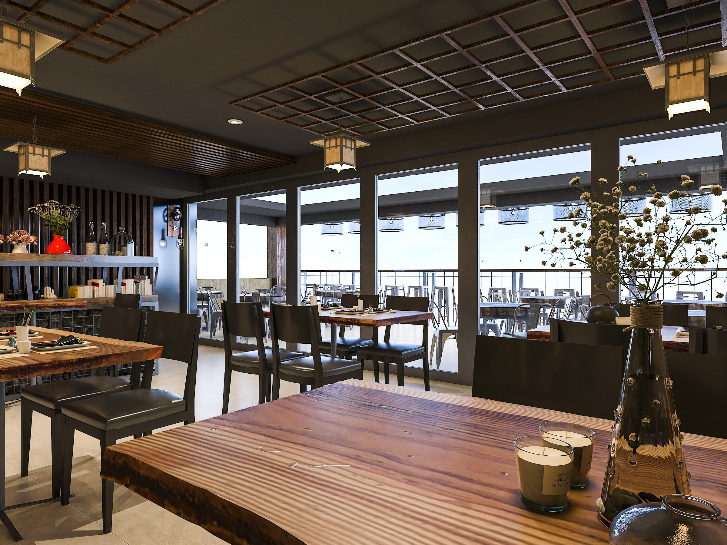 thiết kế nội thất Nhà Hàng tại Hồ Chí Minh NNT Restaurant 10 1562573814