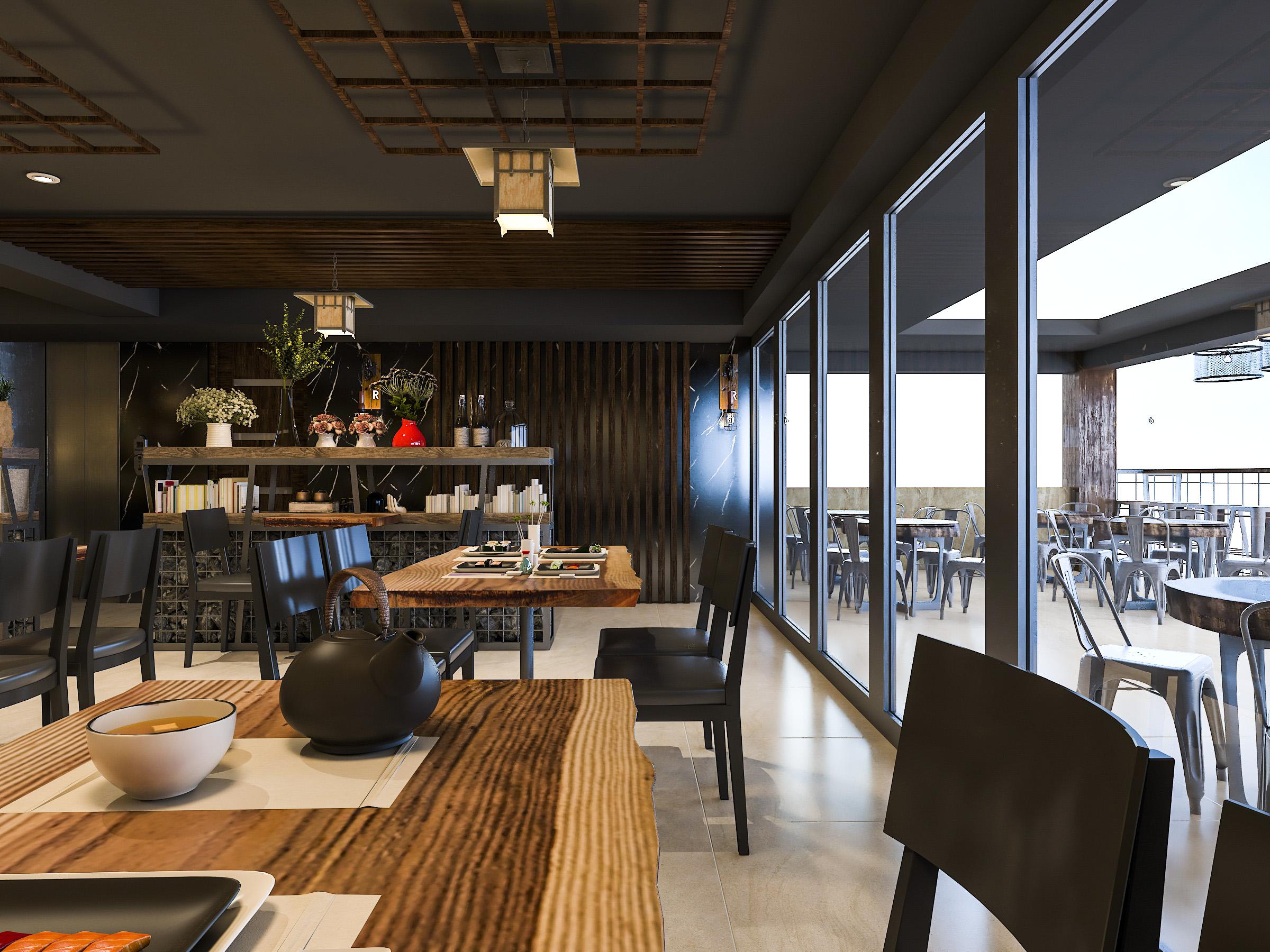thiết kế nội thất Nhà Hàng tại Hồ Chí Minh NNT Restaurant 11 1562573813