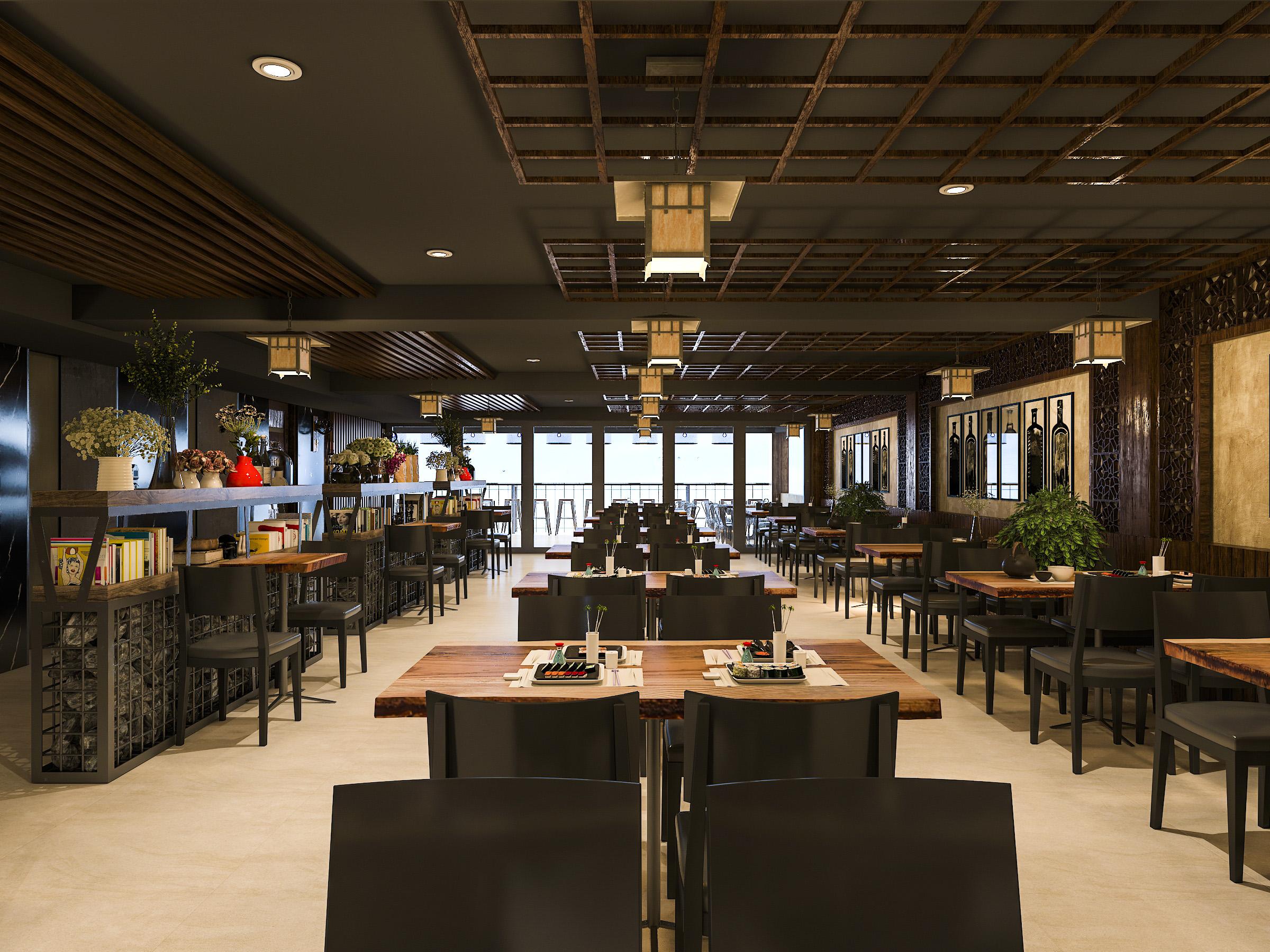 thiết kế nội thất Nhà Hàng tại Hồ Chí Minh NNT Restaurant 1 1562573808