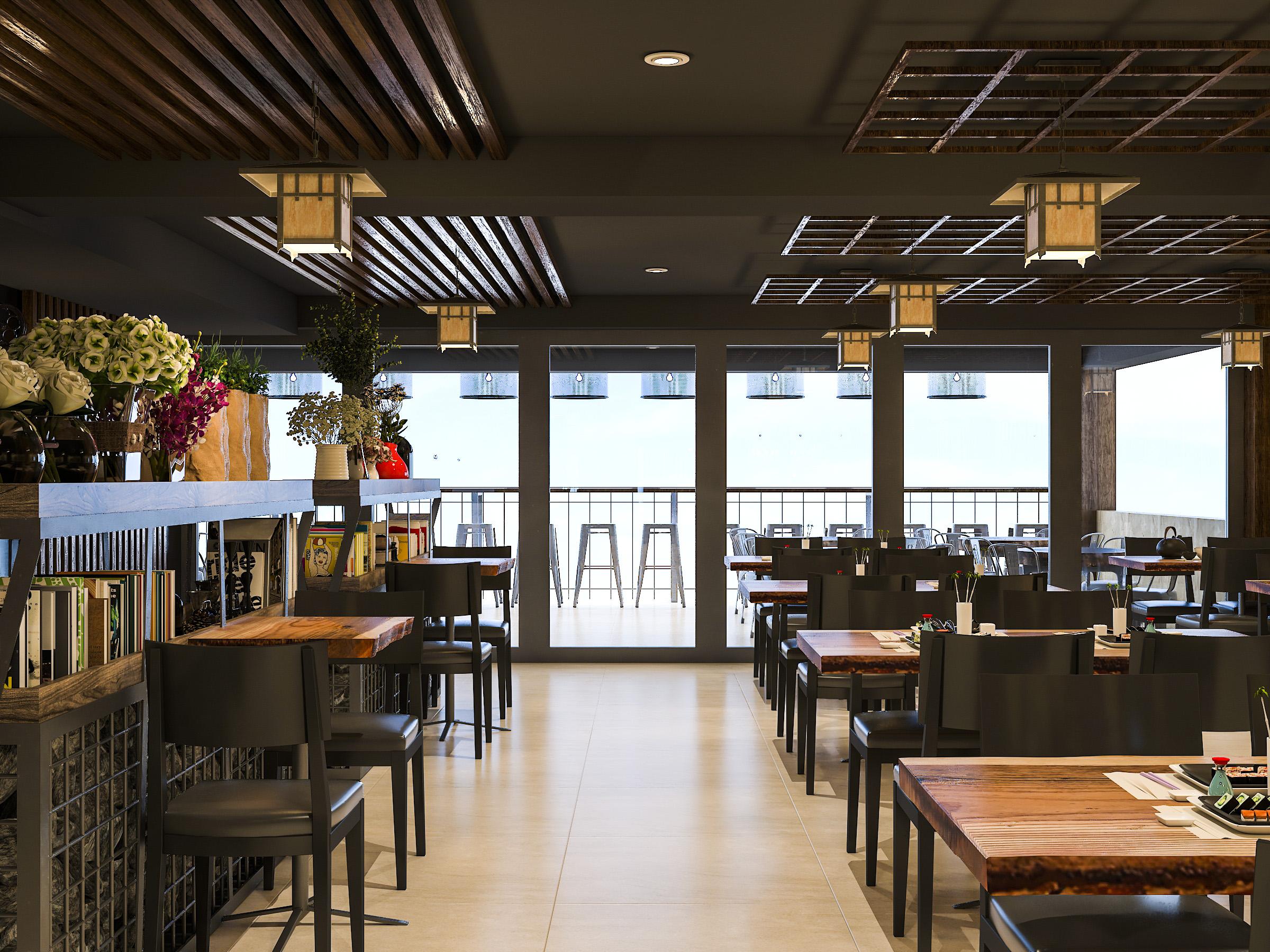 thiết kế nội thất Nhà Hàng tại Hồ Chí Minh NNT Restaurant 13 1562573814