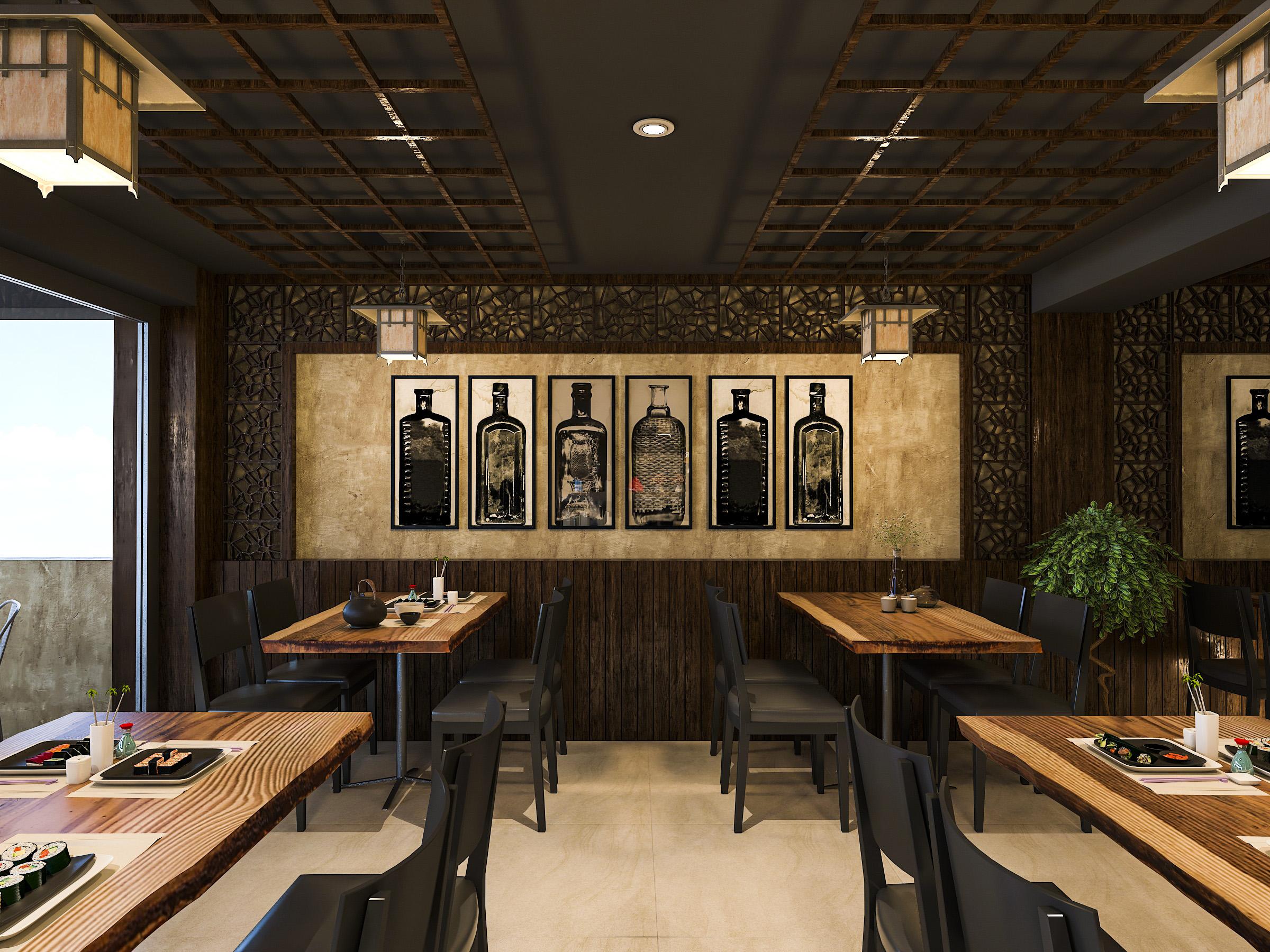 thiết kế nội thất Nhà Hàng tại Hồ Chí Minh NNT Restaurant 2 1562573808