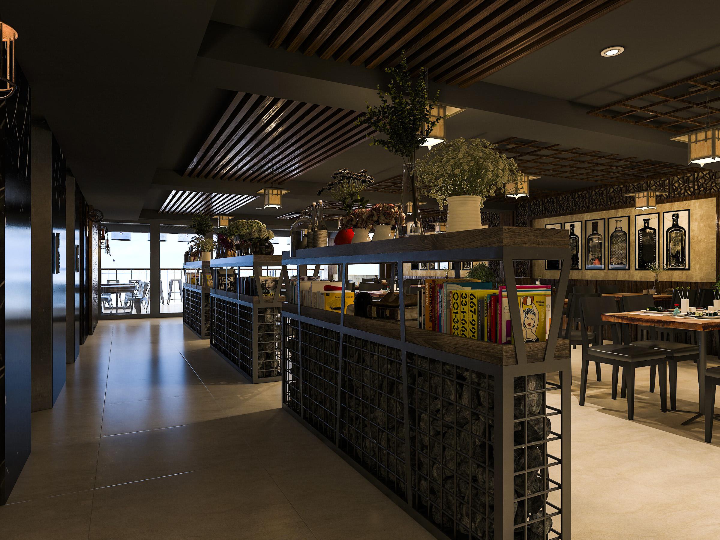 thiết kế nội thất Nhà Hàng tại Hồ Chí Minh NNT Restaurant 3 1562573808