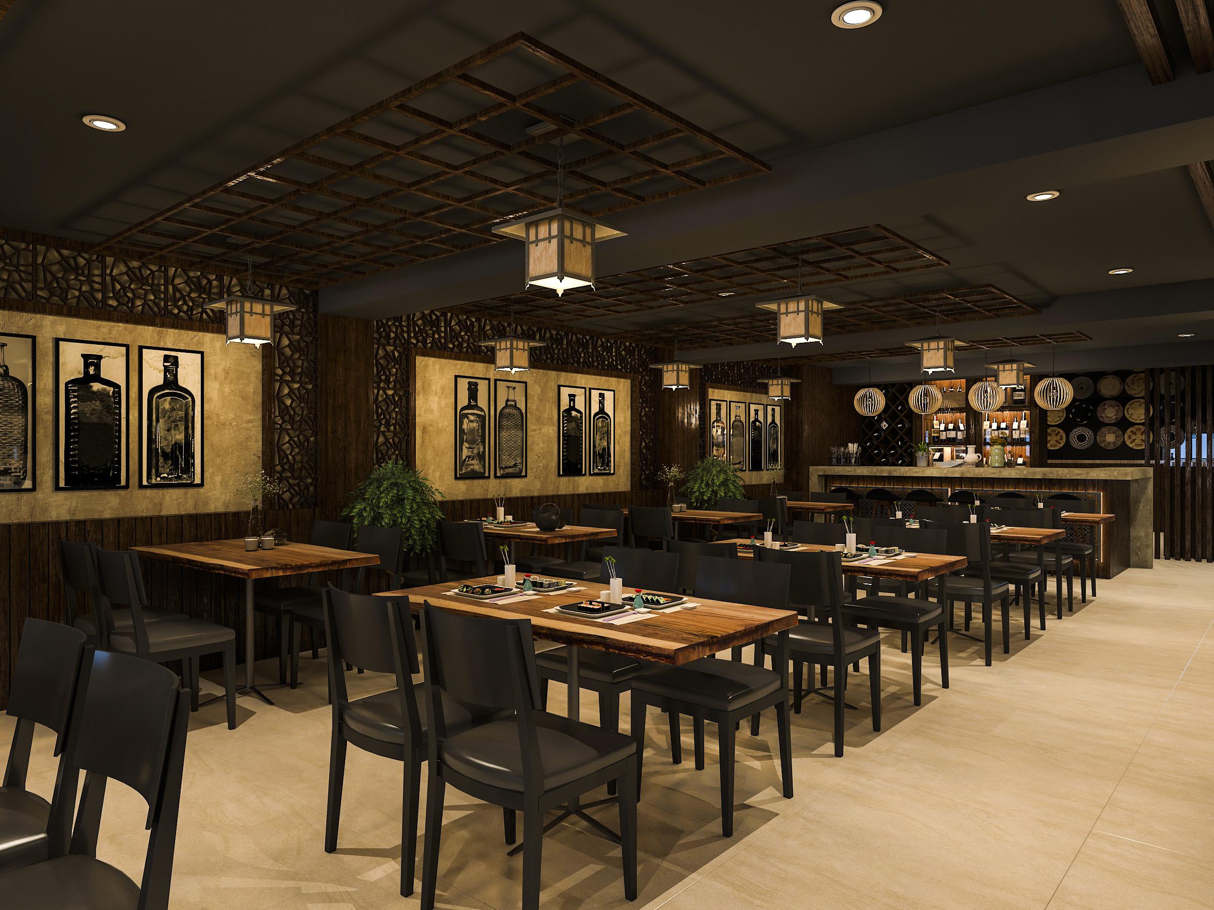 thiết kế nội thất Nhà Hàng tại Hồ Chí Minh NNT Restaurant 5 1562573808