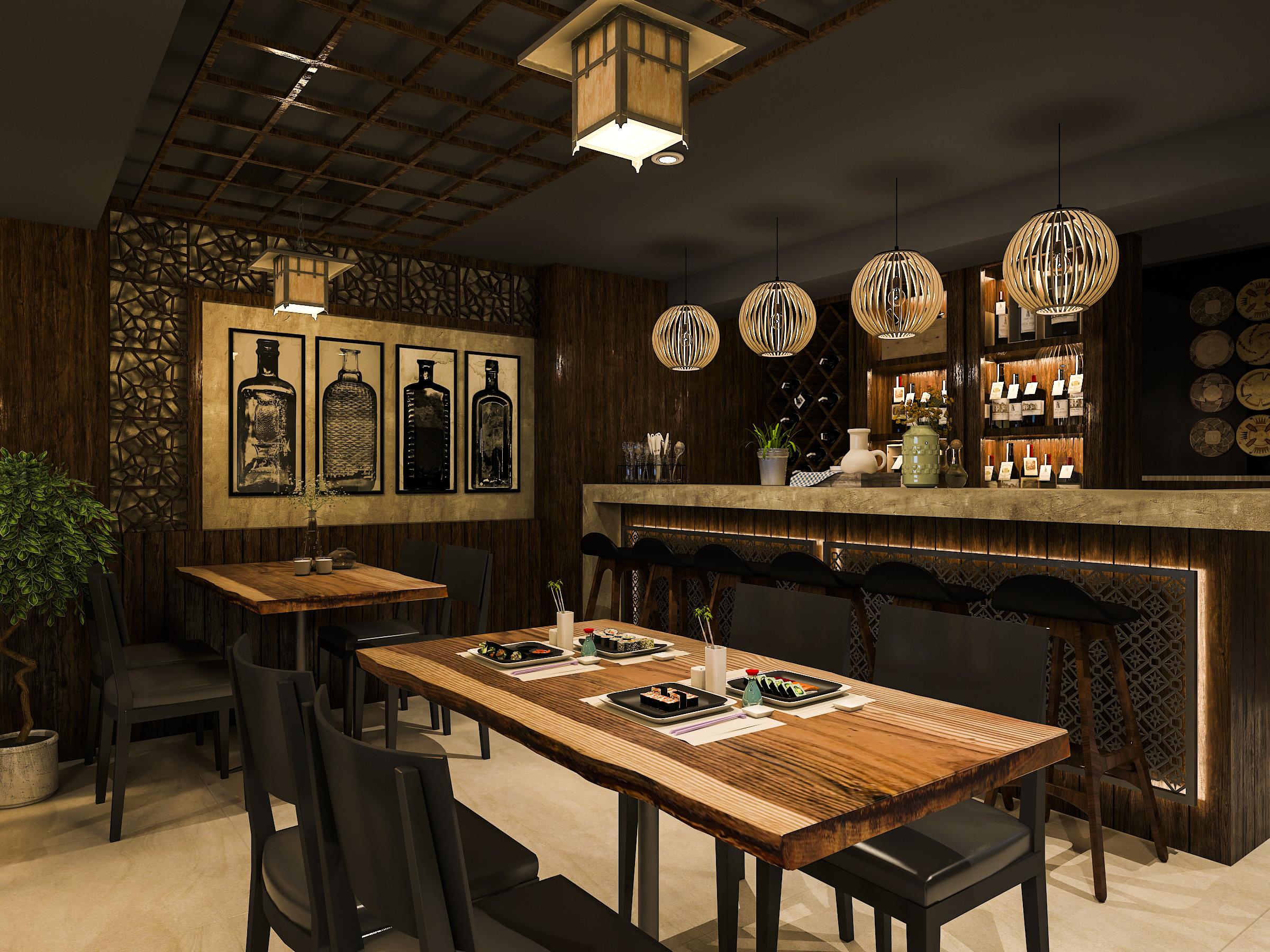 thiết kế nội thất Nhà Hàng tại Hồ Chí Minh NNT Restaurant 6 1562573810