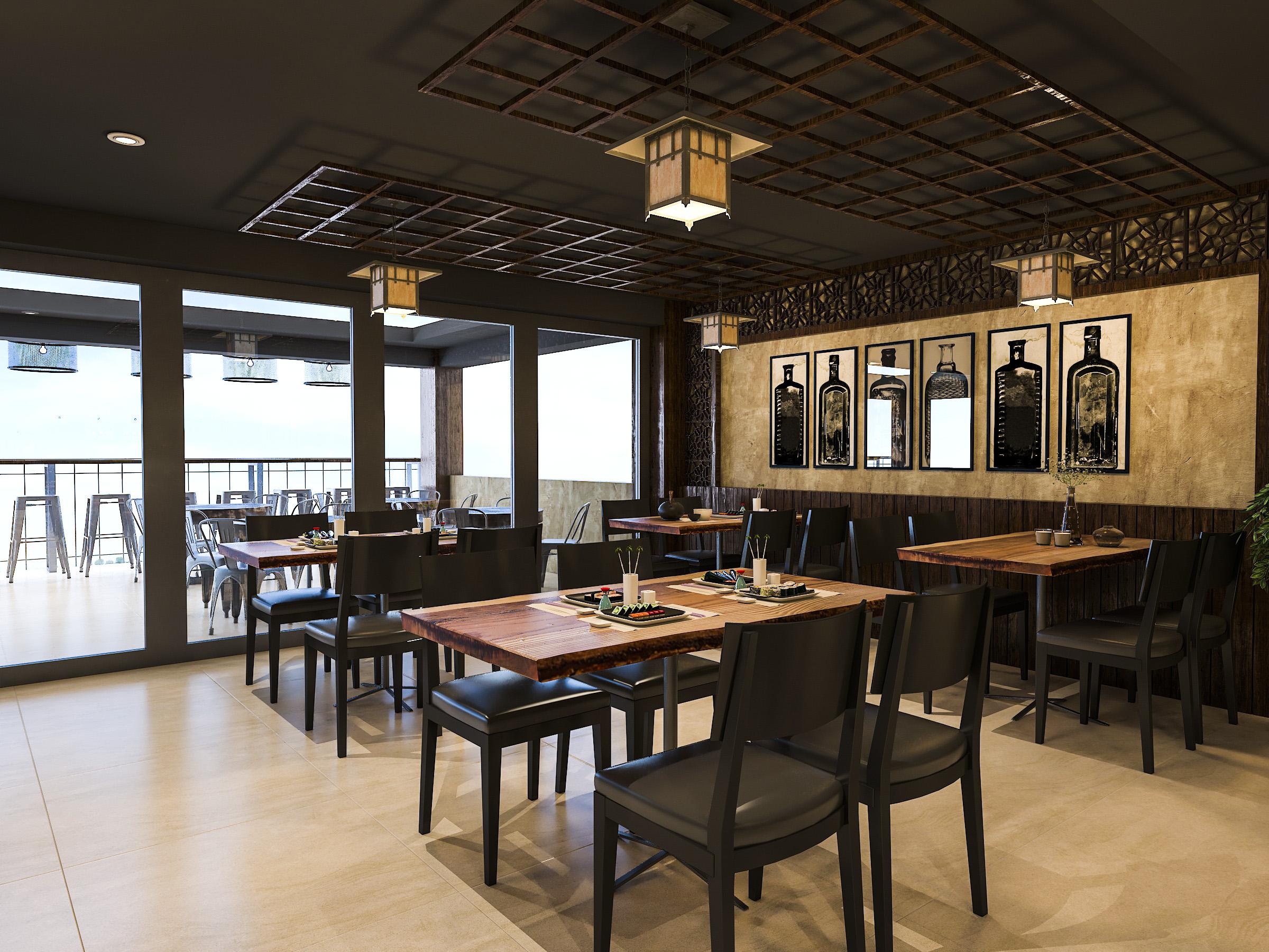 thiết kế nội thất Nhà Hàng tại Hồ Chí Minh NNT Restaurant 9 1562573813