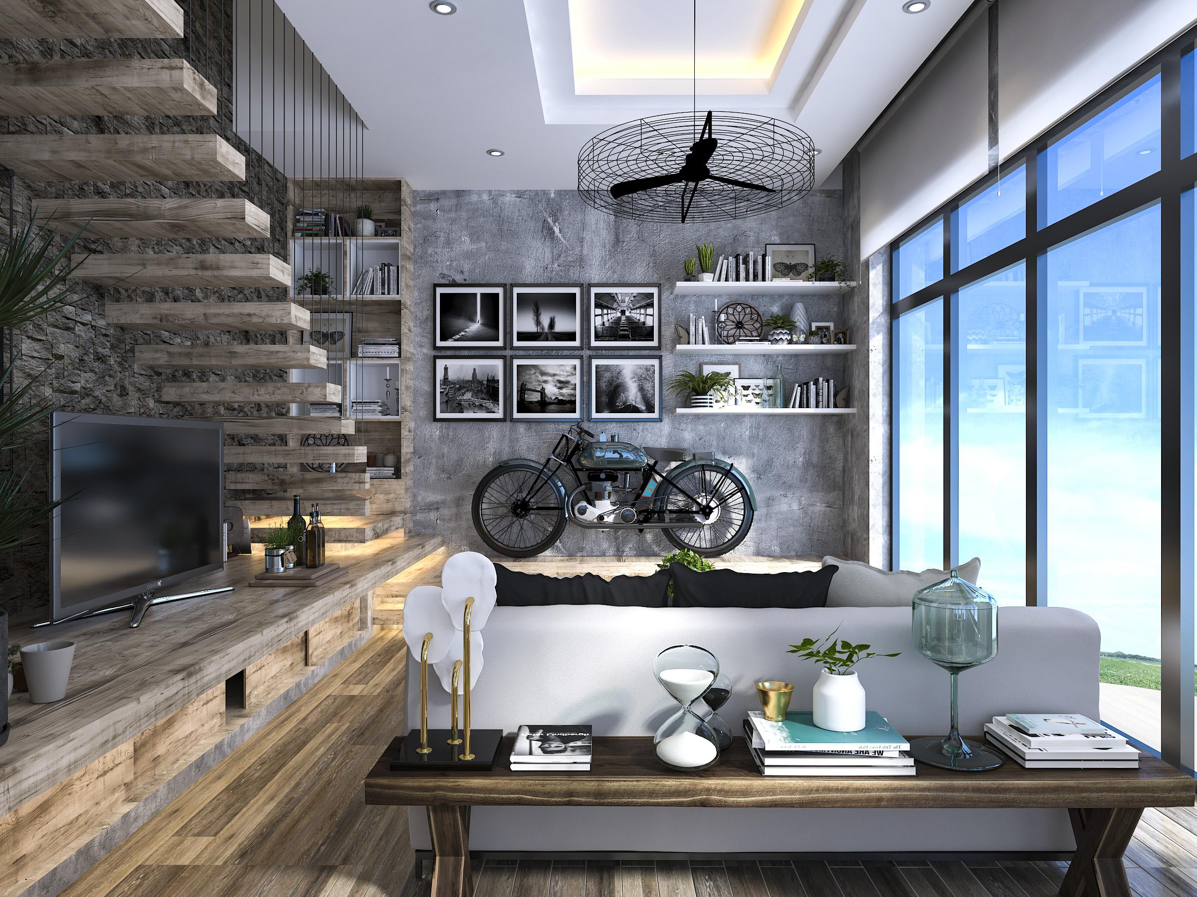 thiết kế nội thất Nhà tại Hồ Chí Minh Mr. Huy House 3 1565771941