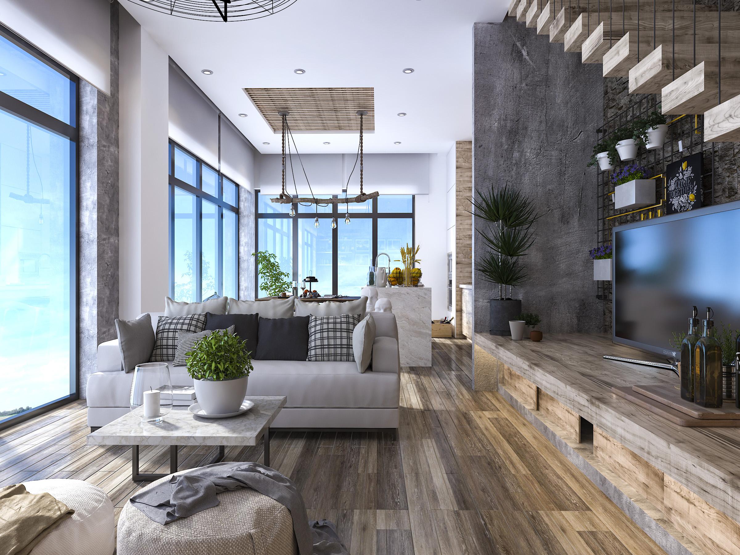 thiết kế nội thất Nhà tại Hồ Chí Minh Mr. Huy House 4 1565771941