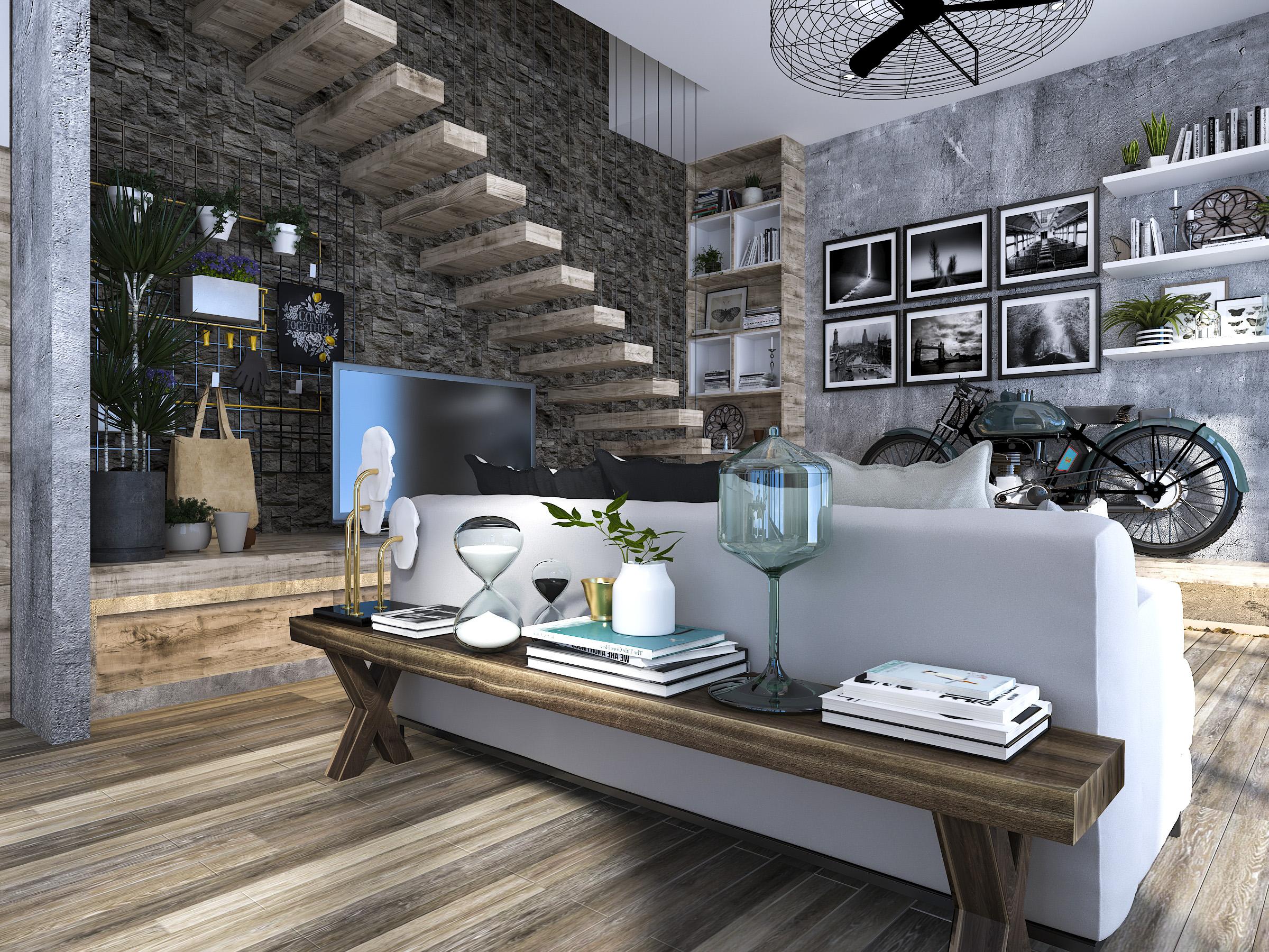 thiết kế nội thất Nhà tại Hồ Chí Minh Mr. Huy House 8 1565771944