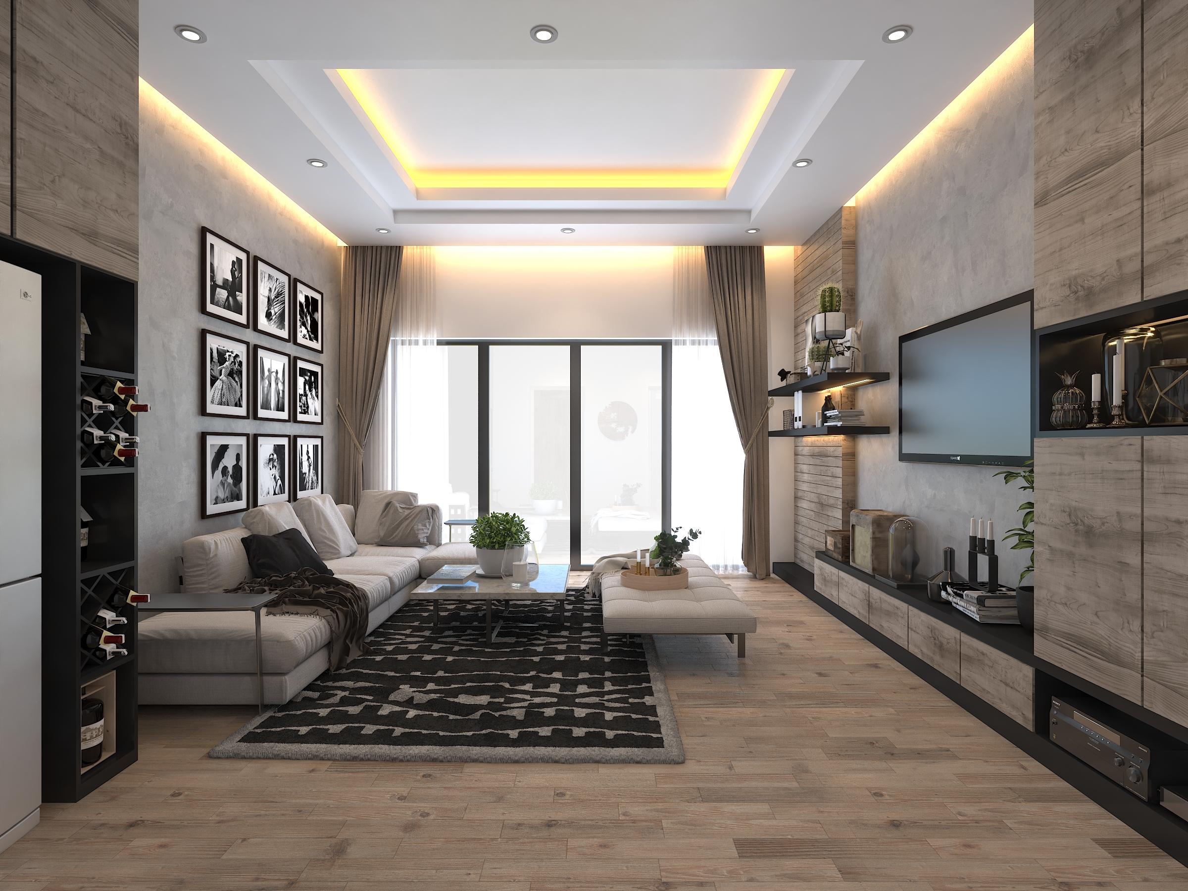 Thiết kế nội thất Nhà tại Hồ Chí Minh Ms'Thi House 1626189805 2