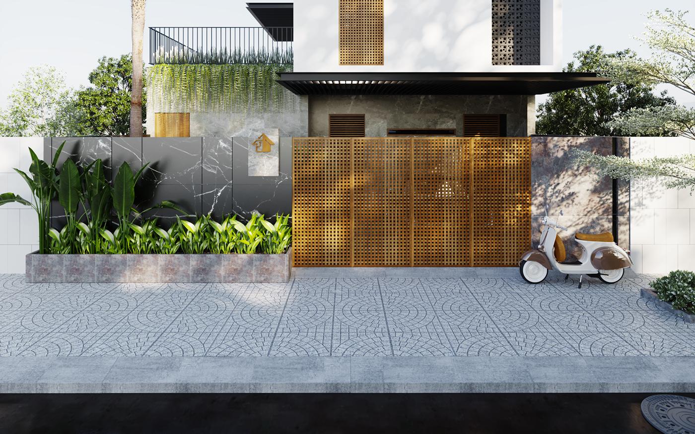 Thiết kế Biệt Thự tại Khánh Hòa H House 1586745949 3