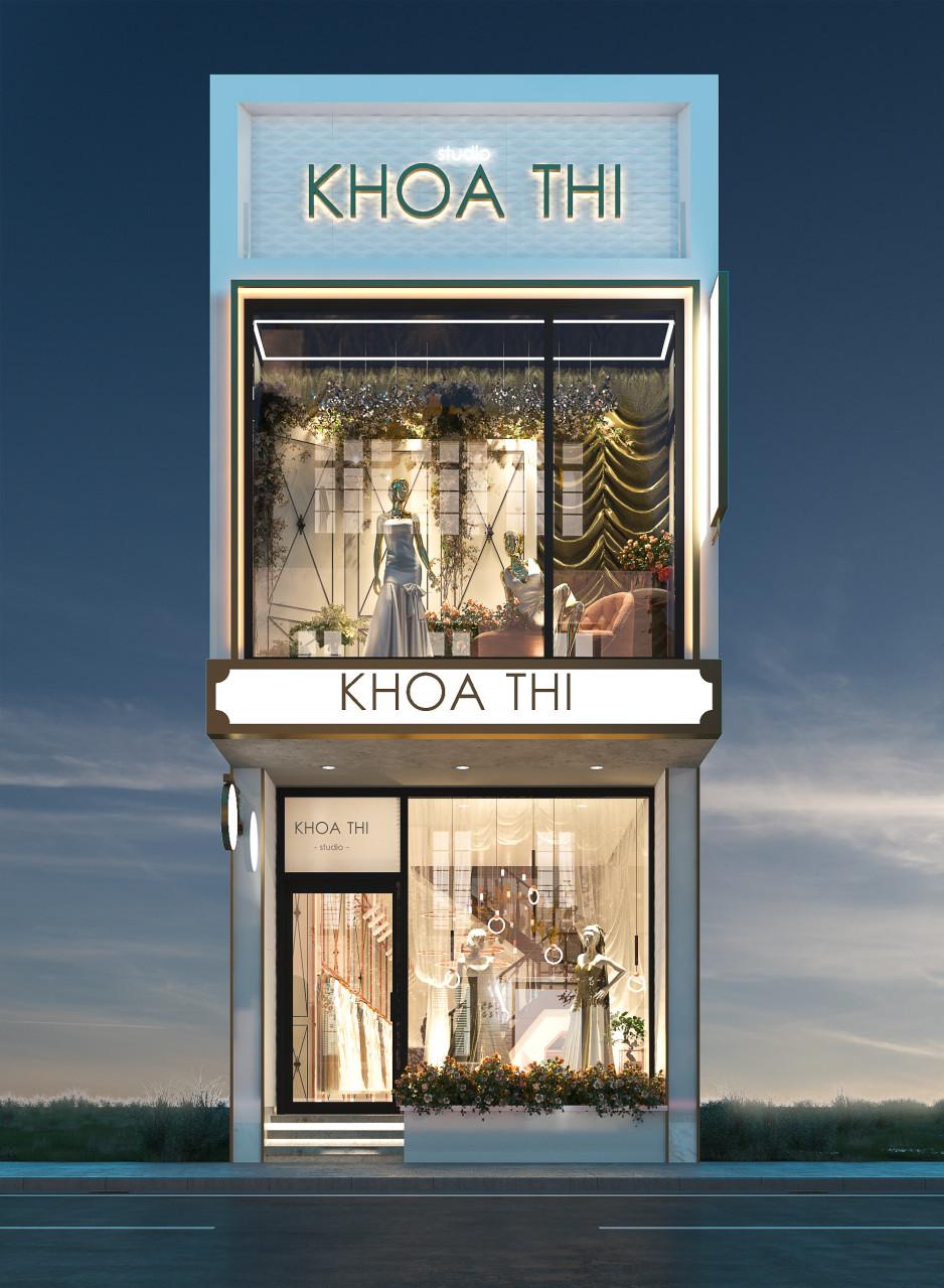 thiết kế nội thất Showroom tại Đồng Tháp showroom ao cưới Khoa Thi 1 1538726602