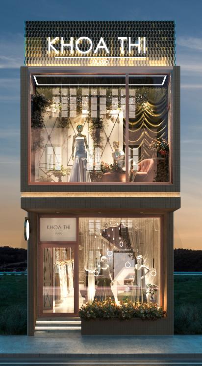 thiết kế nội thất Showroom tại Đồng Tháp showroom ao cưới Khoa Thi 2 1538726609