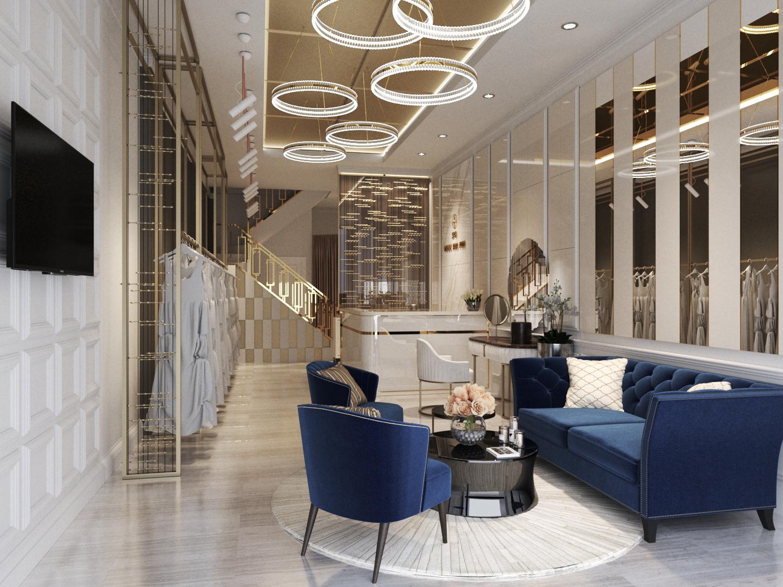 thiết kế nội thất Showroom tại Đồng Tháp showroom ao cưới Khoa Thi 3 1538726605