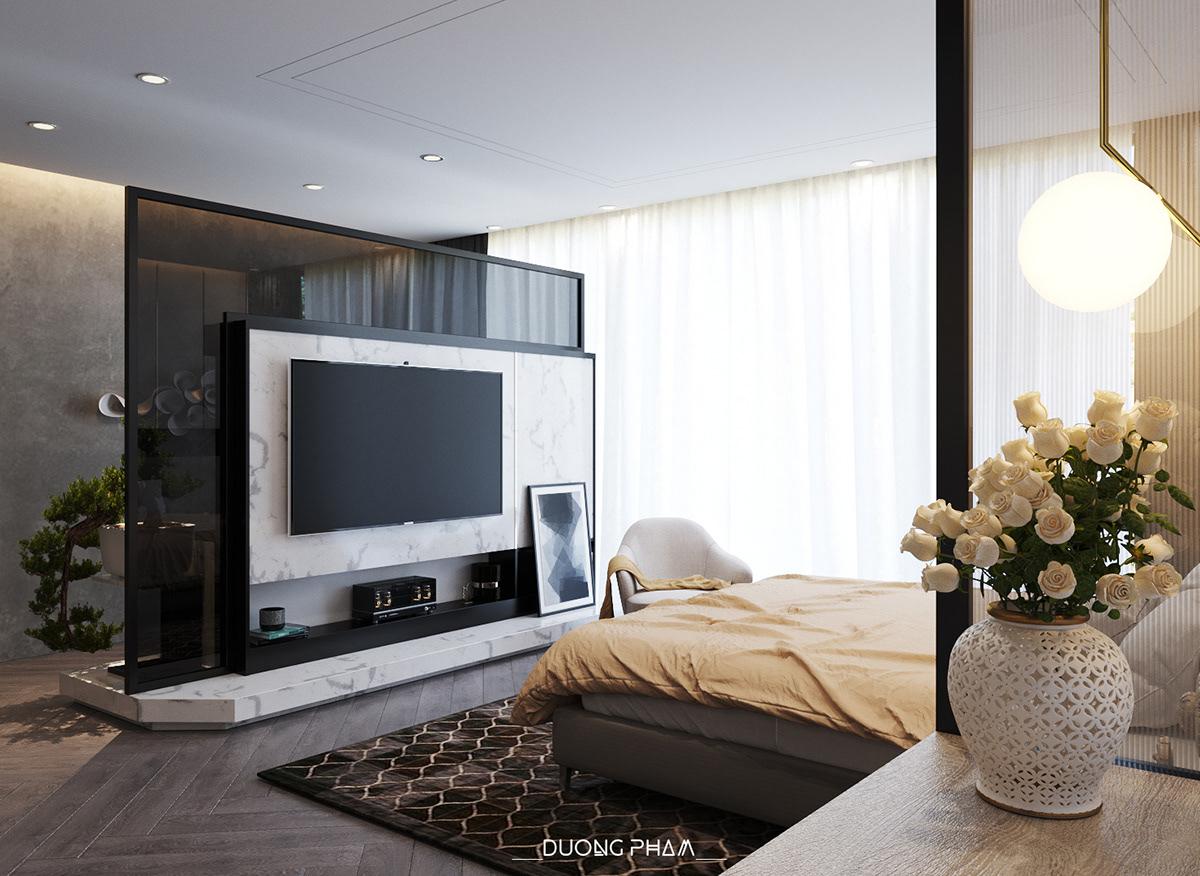 thiết kế nội thất chung cư tại Hồ Chí Minh BEDROOM MASTER 0 1535511647