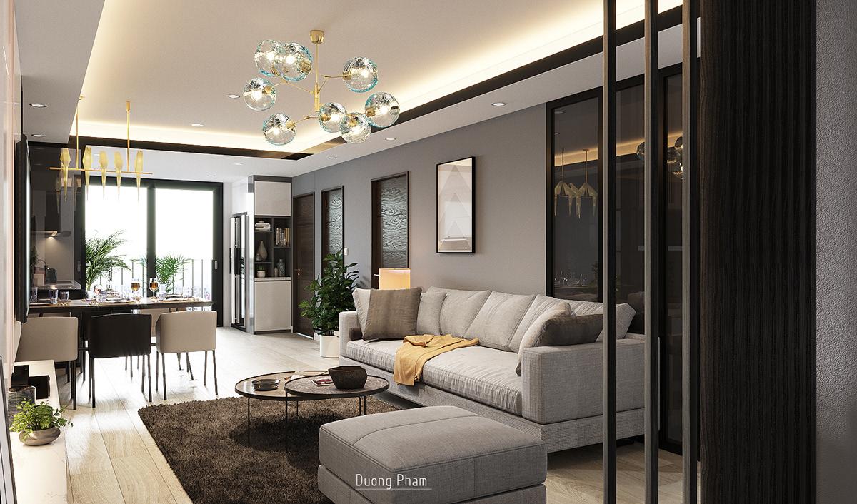 thiết kế nội thất chung cư tại Hồ Chí Minh Apartment Location Ha Noi 0 1535512588
