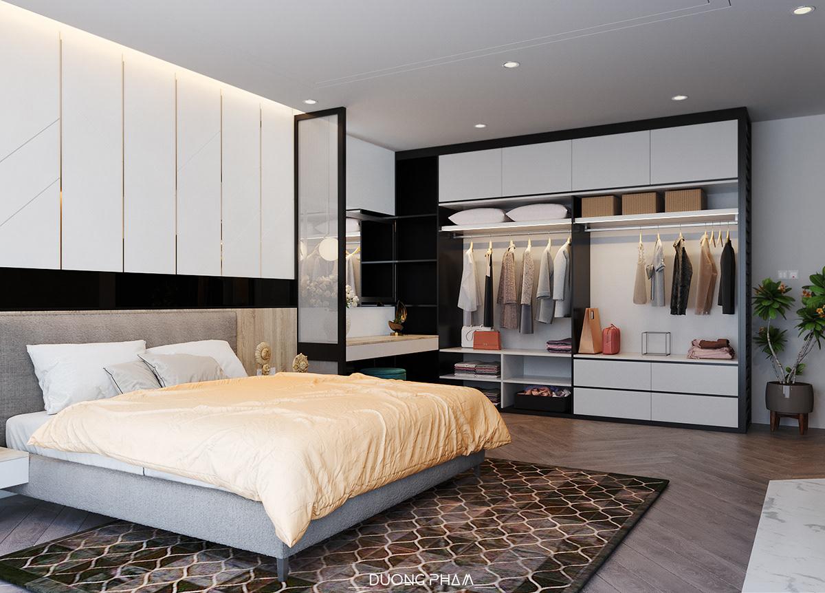 thiết kế nội thất chung cư tại Hồ Chí Minh BEDROOM MASTER 1 1535511648