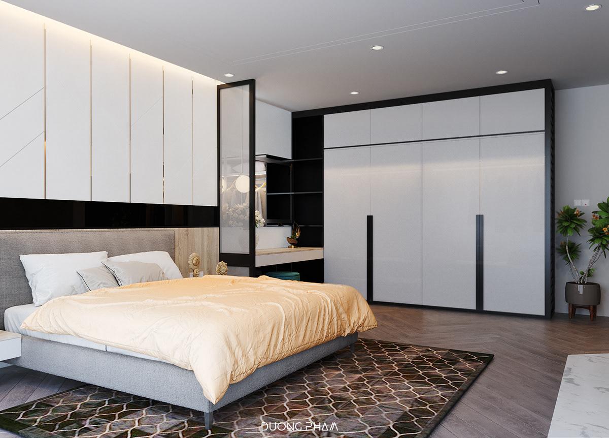 thiết kế nội thất chung cư tại Hồ Chí Minh BEDROOM MASTER 2 1535511648