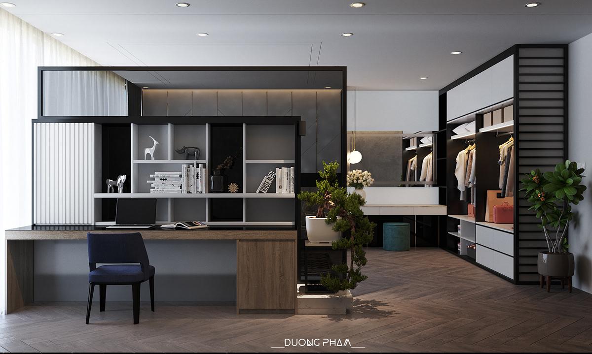 thiết kế nội thất chung cư tại Hồ Chí Minh BEDROOM MASTER 4 1535511649
