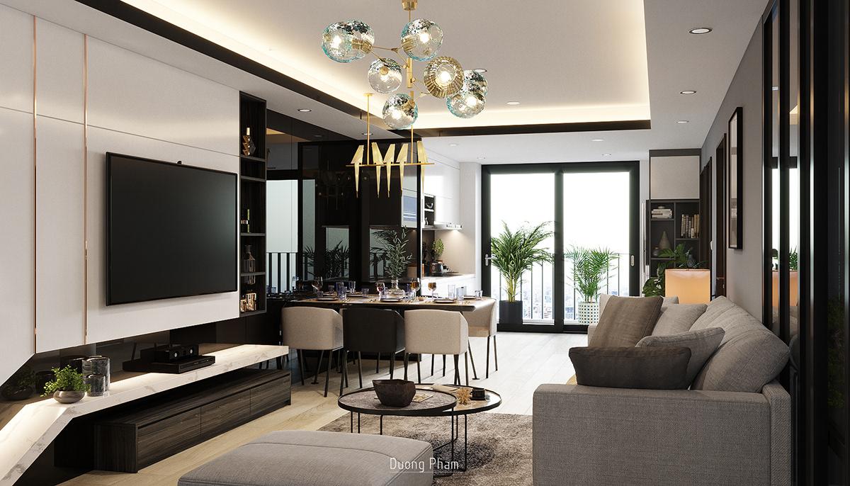thiết kế nội thất chung cư tại Hồ Chí Minh Apartment Location Ha Noi 4 1535512594