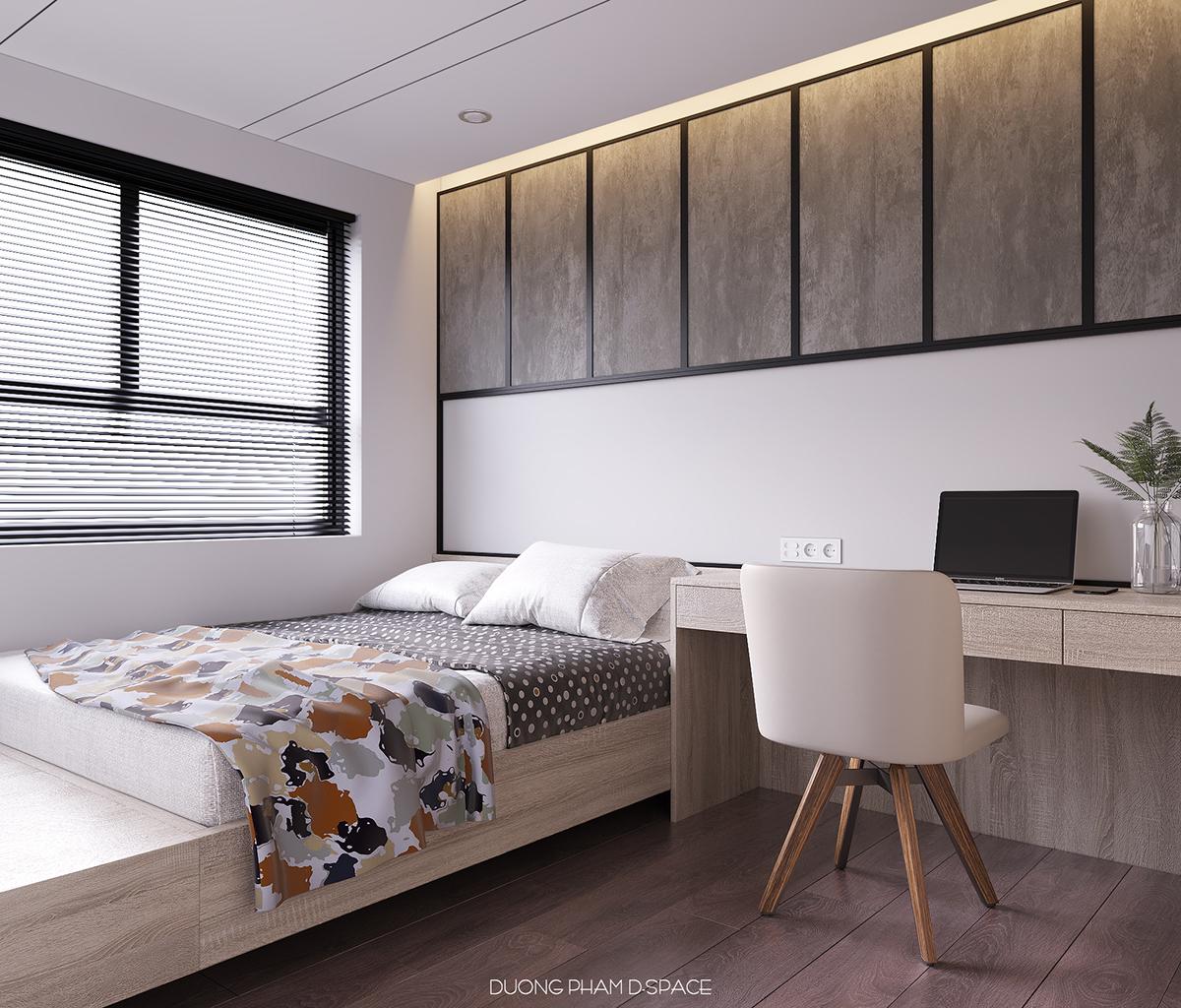 thiết kế nội thất chung cư tại Hồ Chí Minh Taiwan Apartment 5 1535512325
