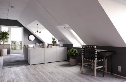 Cover Scandinavian small apartment
