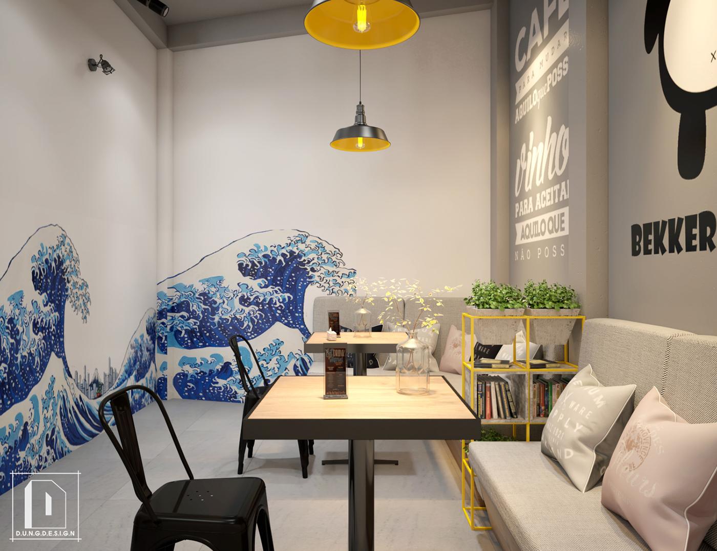thiết kế nội thất Cafe tại Hồ Chí Minh Bekker Coffee 0 1538453251