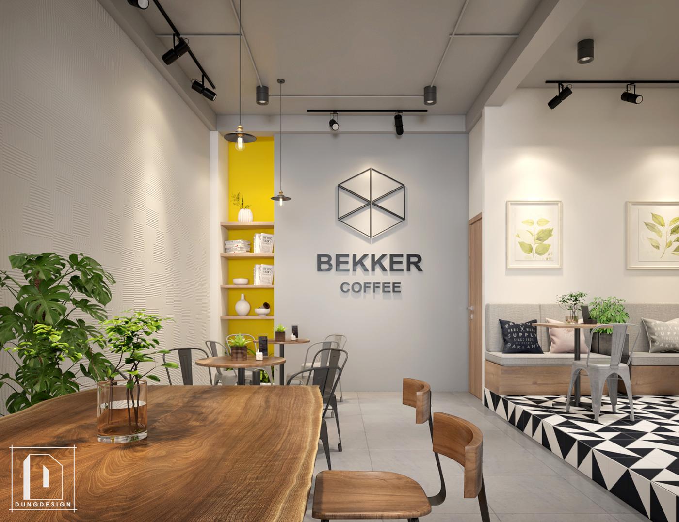 thiết kế nội thất Cafe tại Hồ Chí Minh Bekker Coffee 10 1538453263