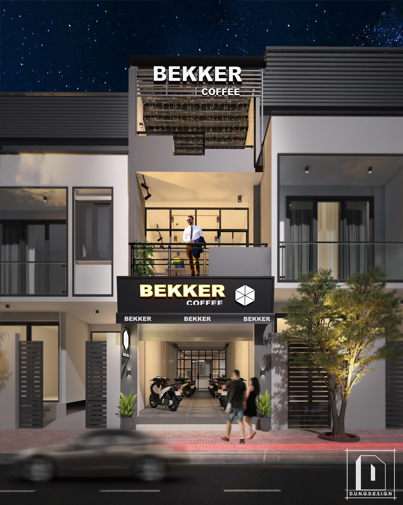 thiết kế nội thất Cafe tại Hồ Chí Minh Bekker Coffee 15 1538453281