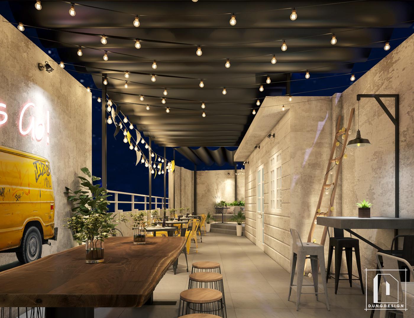 thiết kế nội thất Cafe tại Hồ Chí Minh Bekker Coffee 17 1538453270