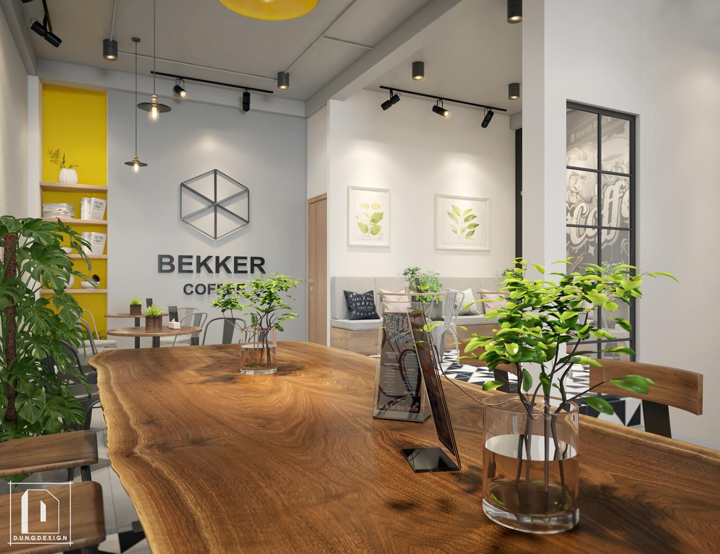 thiết kế nội thất Cafe tại Hồ Chí Minh Bekker Coffee 18 1538453266