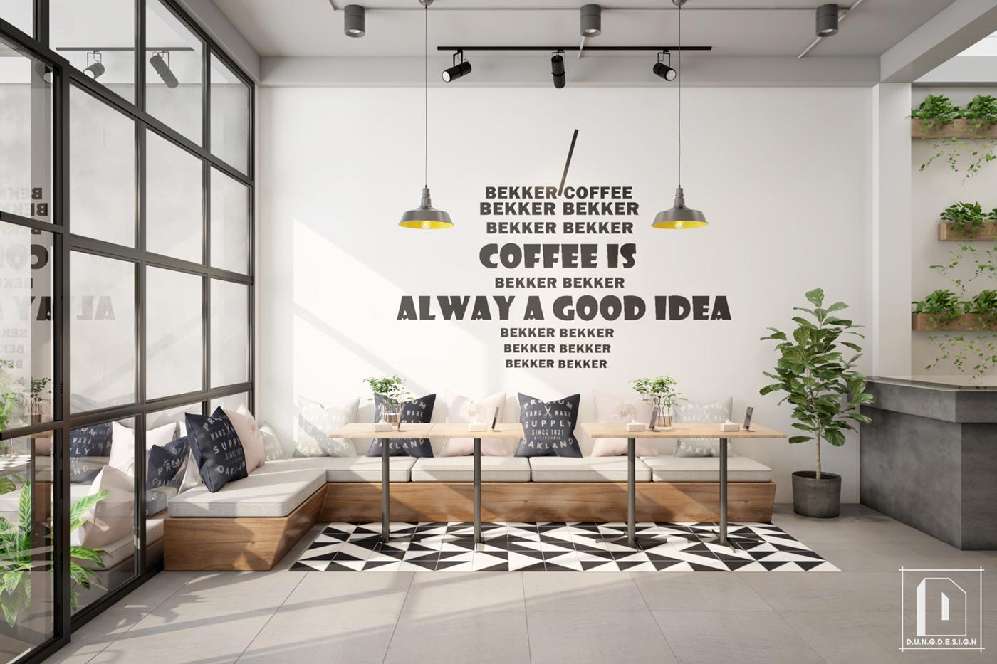 thiết kế nội thất Cafe tại Hồ Chí Minh Bekker Coffee 19 1538453235