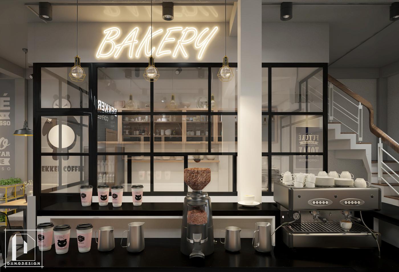 thiết kế nội thất Cafe tại Hồ Chí Minh Bekker Coffee 20 1538453241