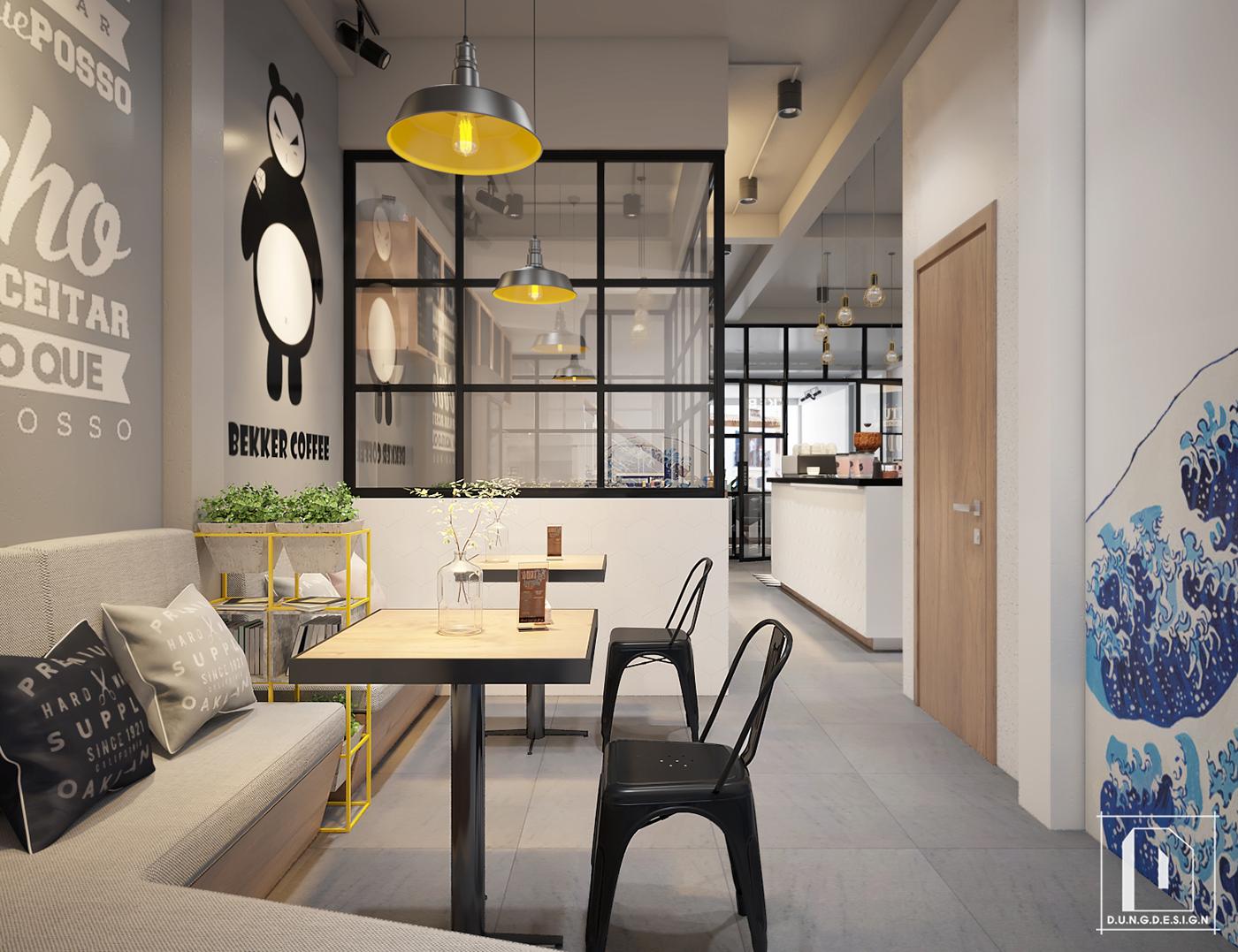 thiết kế nội thất Cafe tại Hồ Chí Minh Bekker Coffee 21 1538453261