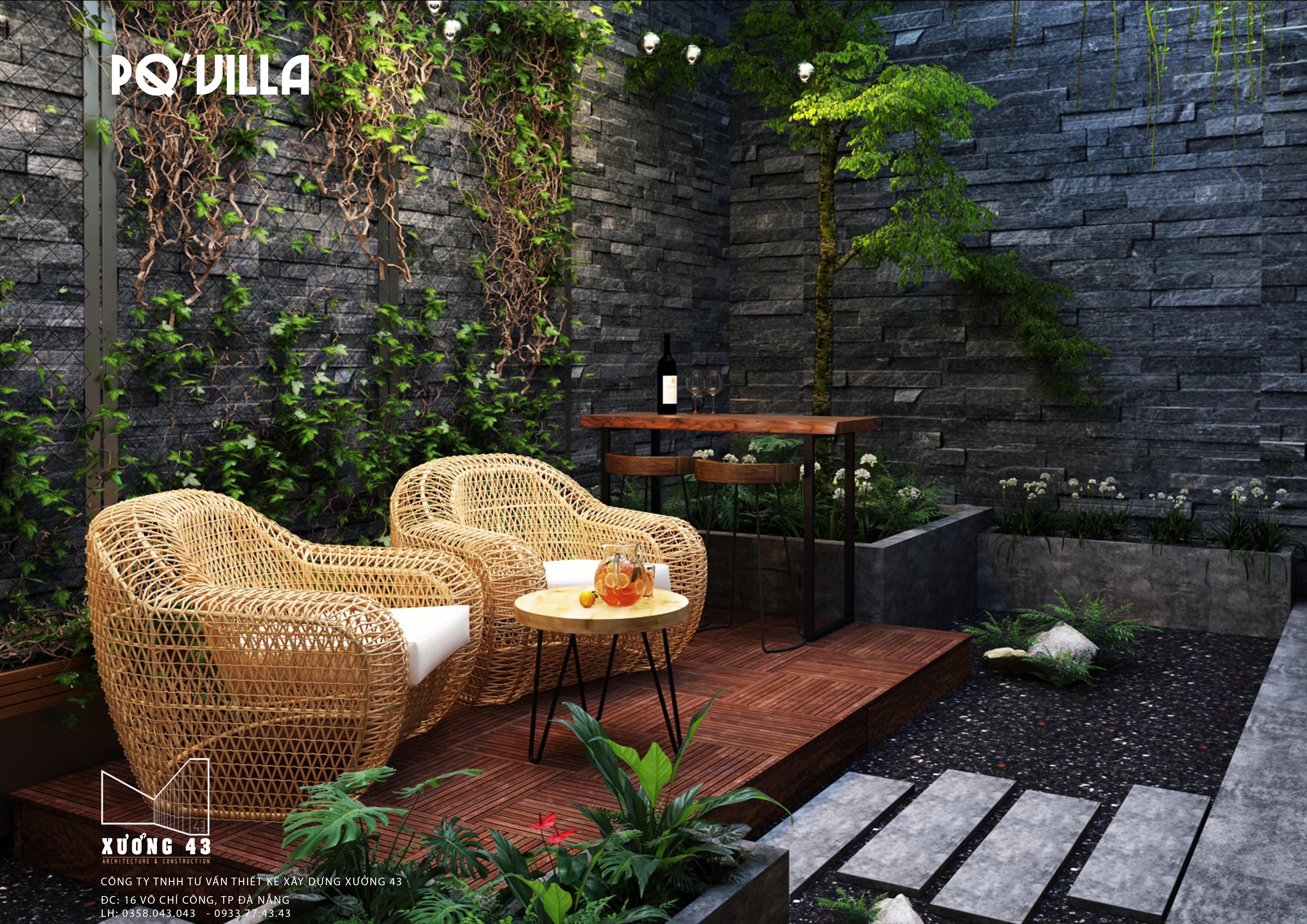 thiết kế Nhà tại Đà Nẵng PQ Villa 13 1571286160