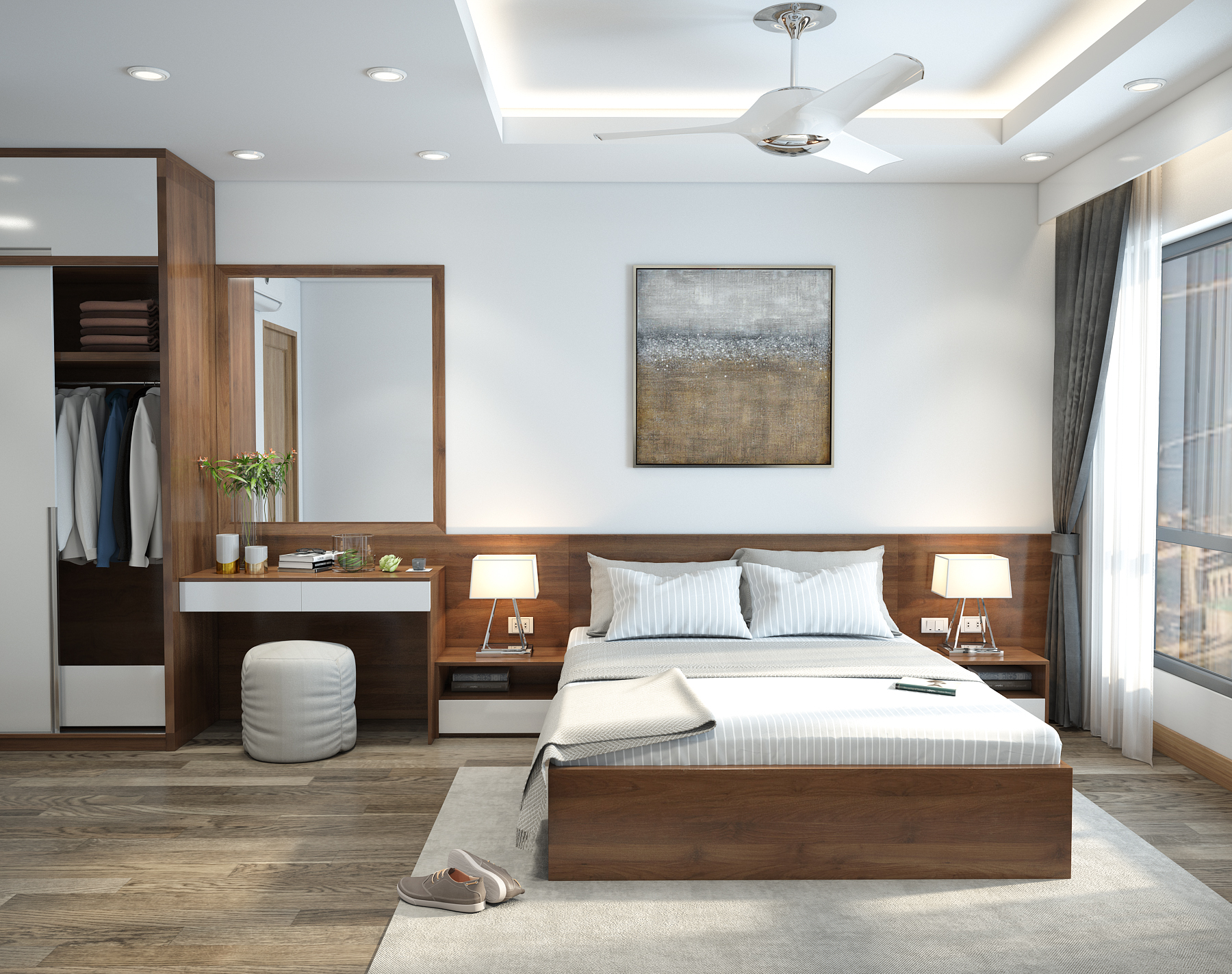thiết kế nội thất chung cư tại Hà Nội Chung Cư An Bình City 21 1538039756