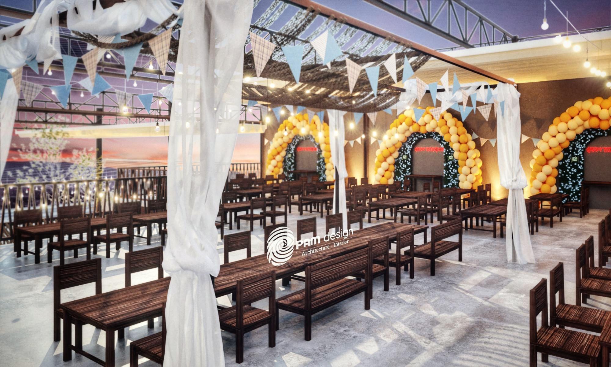 thiết kế nội thất Cafe tại Đà Nẵng Quán nhậu MẼO 3 1568195498