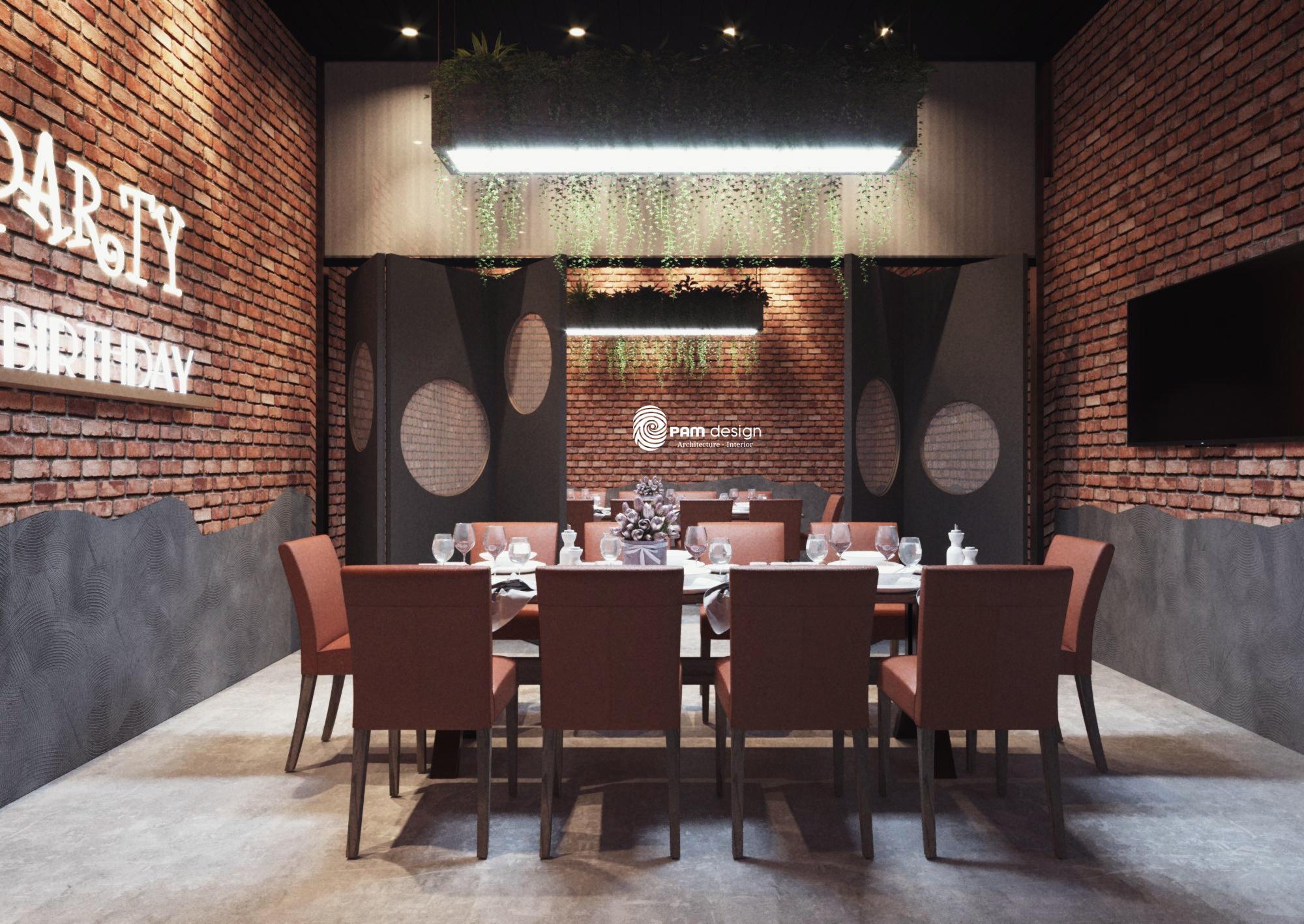 thiết kế nội thất Cafe tại Đà Nẵng Quán nhậu MẼO 7 1568195499