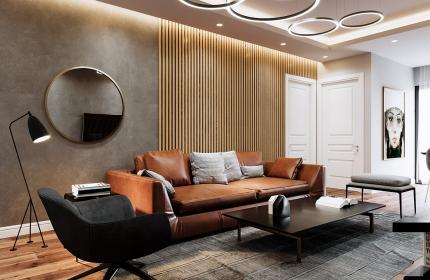 Dự án Athena complex, căn hộ 105,7 m2.
