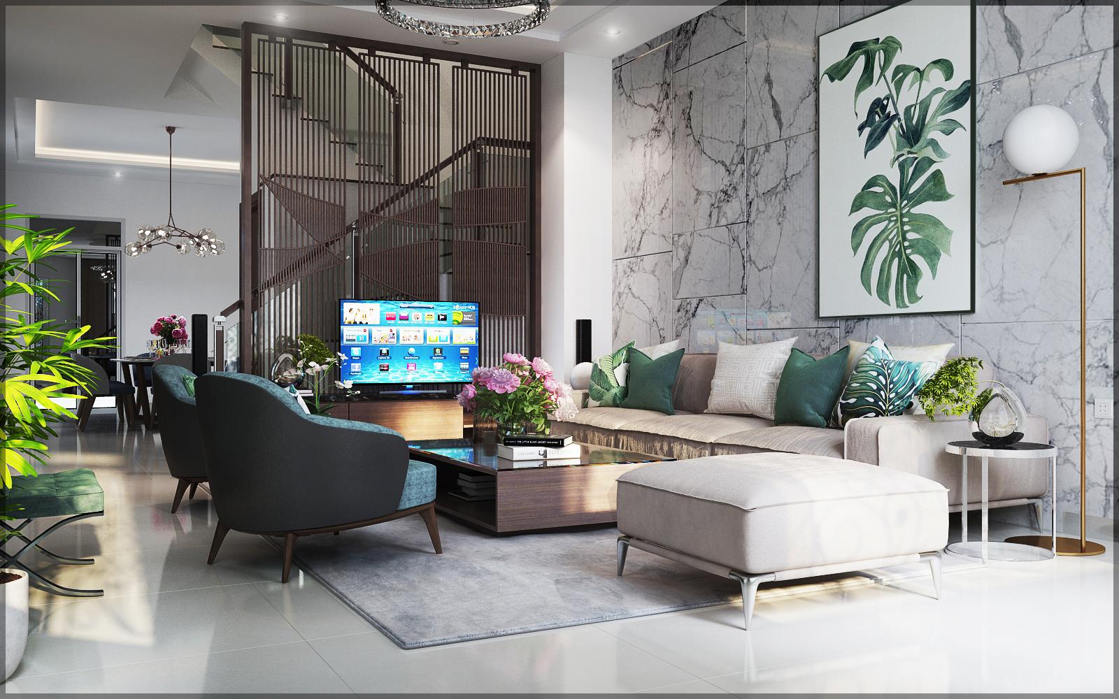 thiết kế nội thất Biệt Thự tại Hồ Chí Minh Mr Cường 10 1534911165