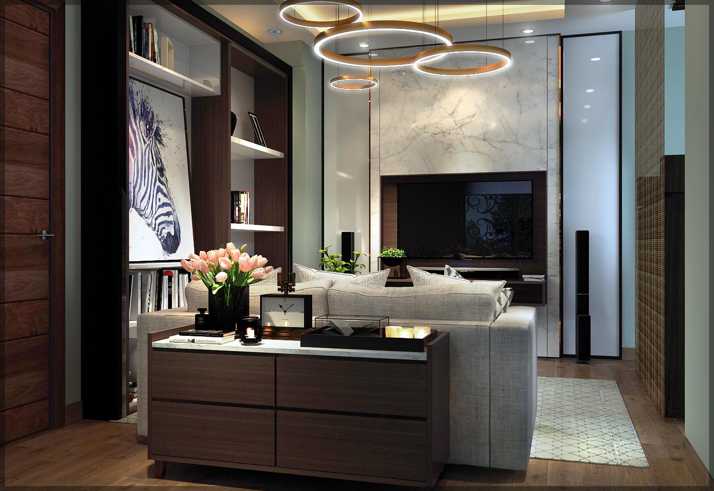 thiết kế nội thất Biệt Thự tại Hồ Chí Minh Mr Cường 14 1534911154