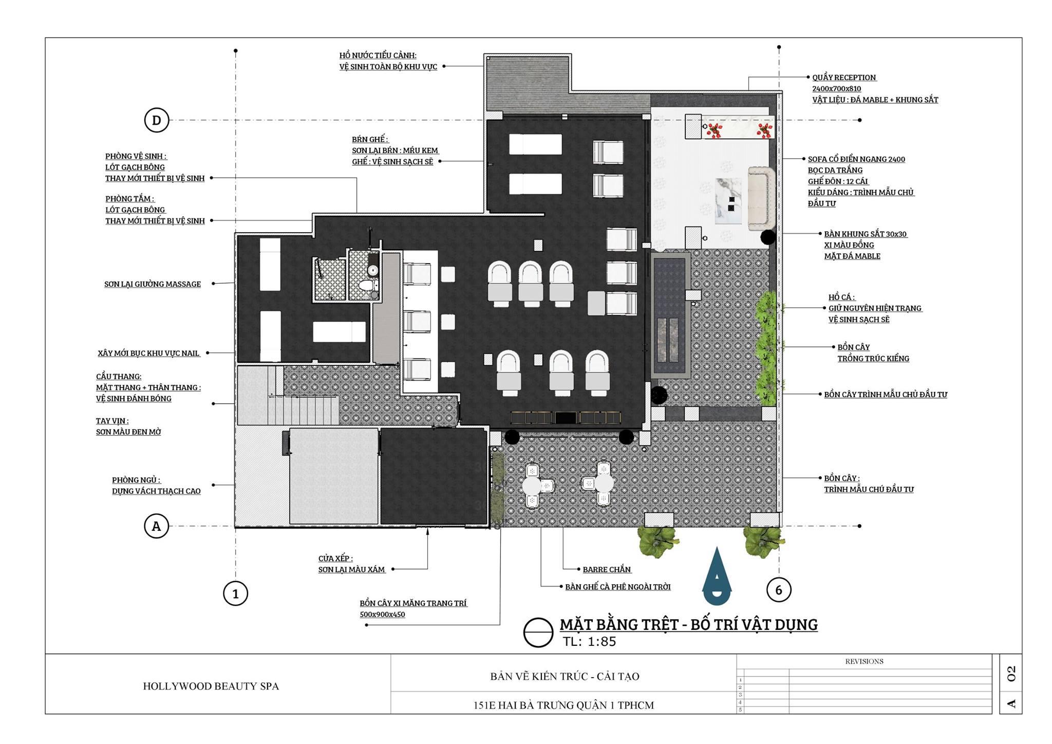 thiết kế nội thất Spa tại Hồ Chí Minh CẢI TẠO SPA - 06.2017 6 1534236526