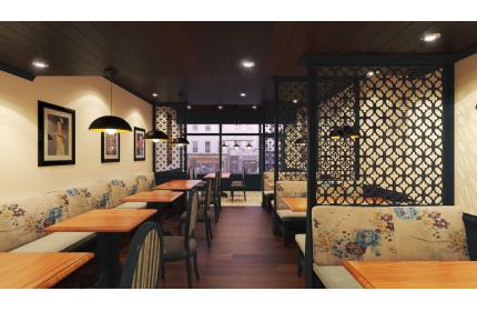 Cải tạo nhà hàng ashoka